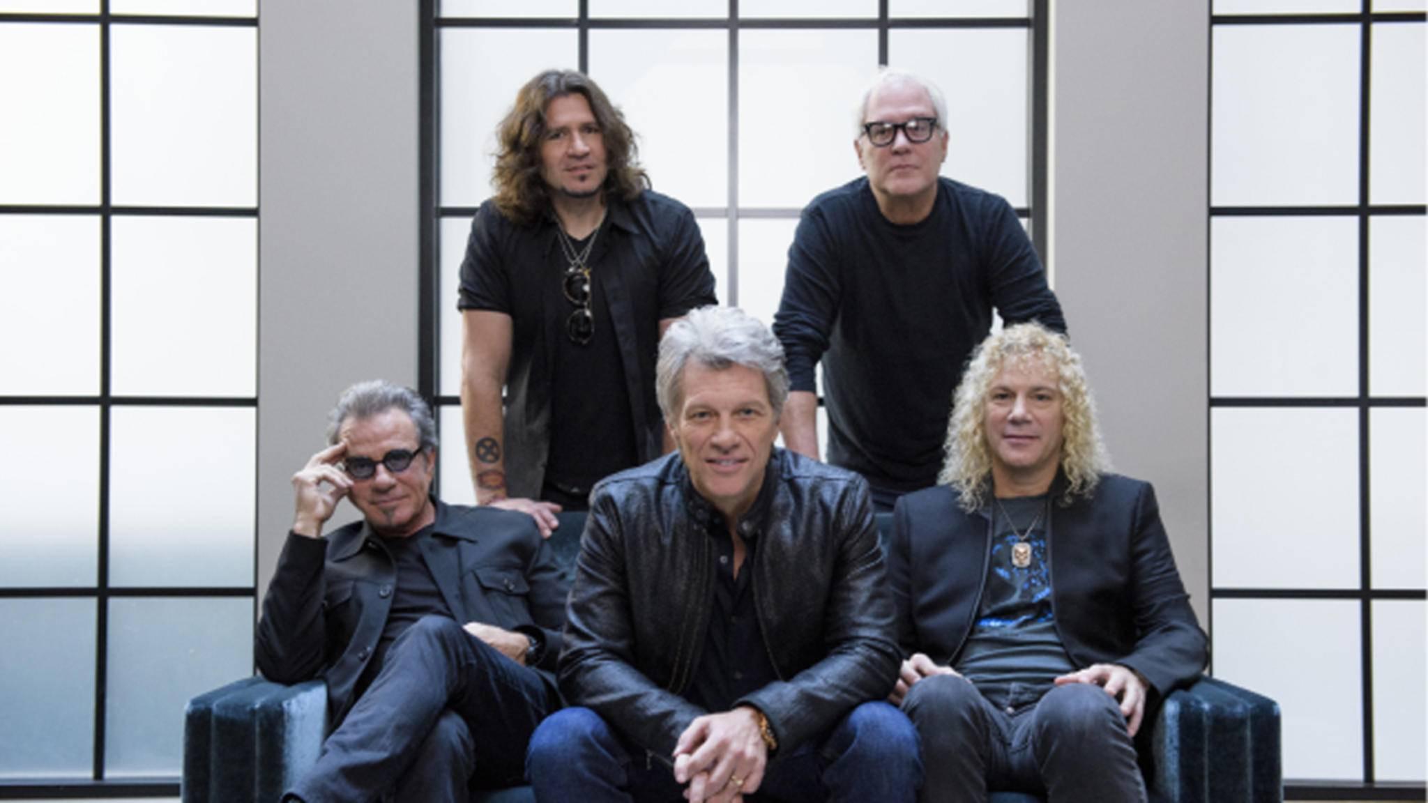 Bon Jovi sind zurück: Mit einer neuen Nummer Eins!