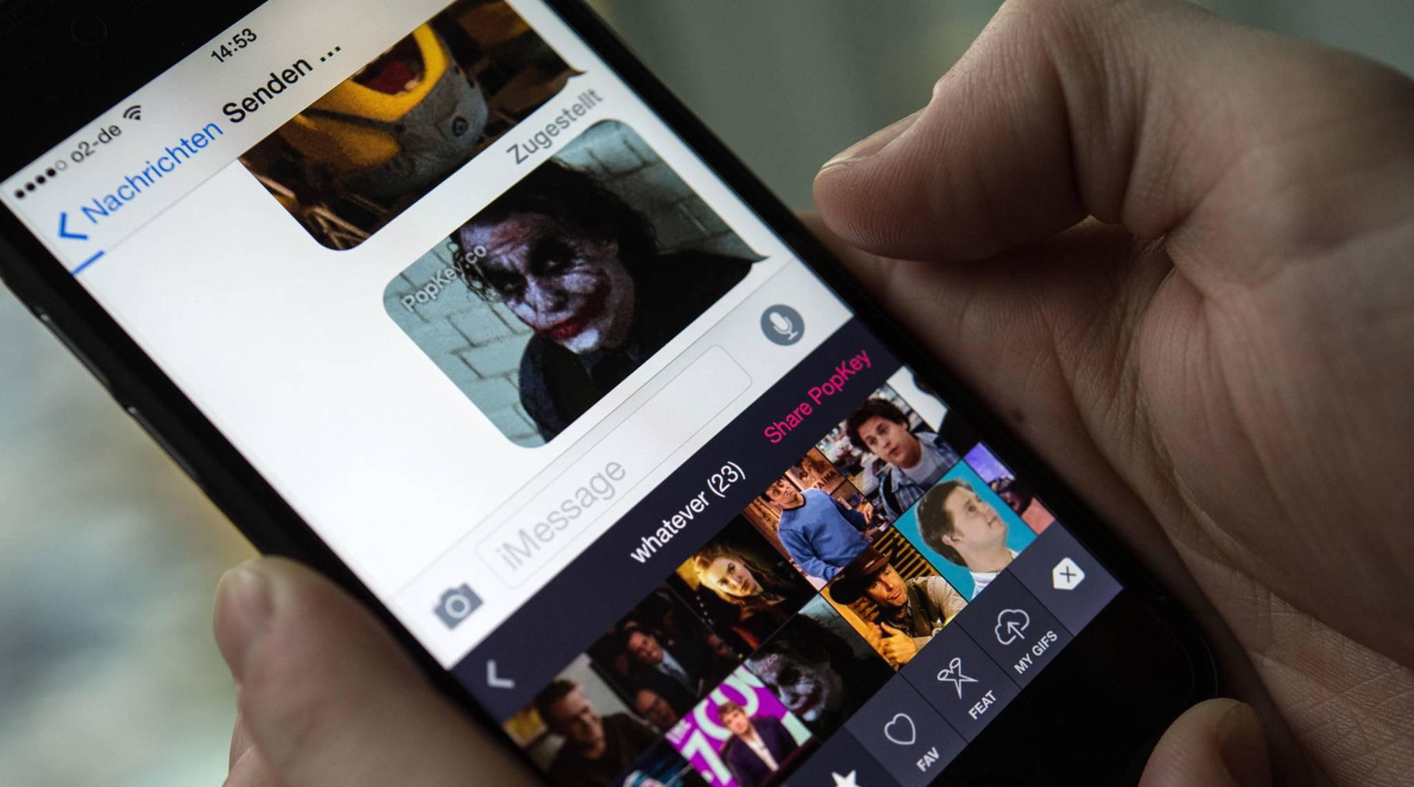 Seit iOS 10 können Sticker und Apps innerhalb von iMessage genutzt werden.