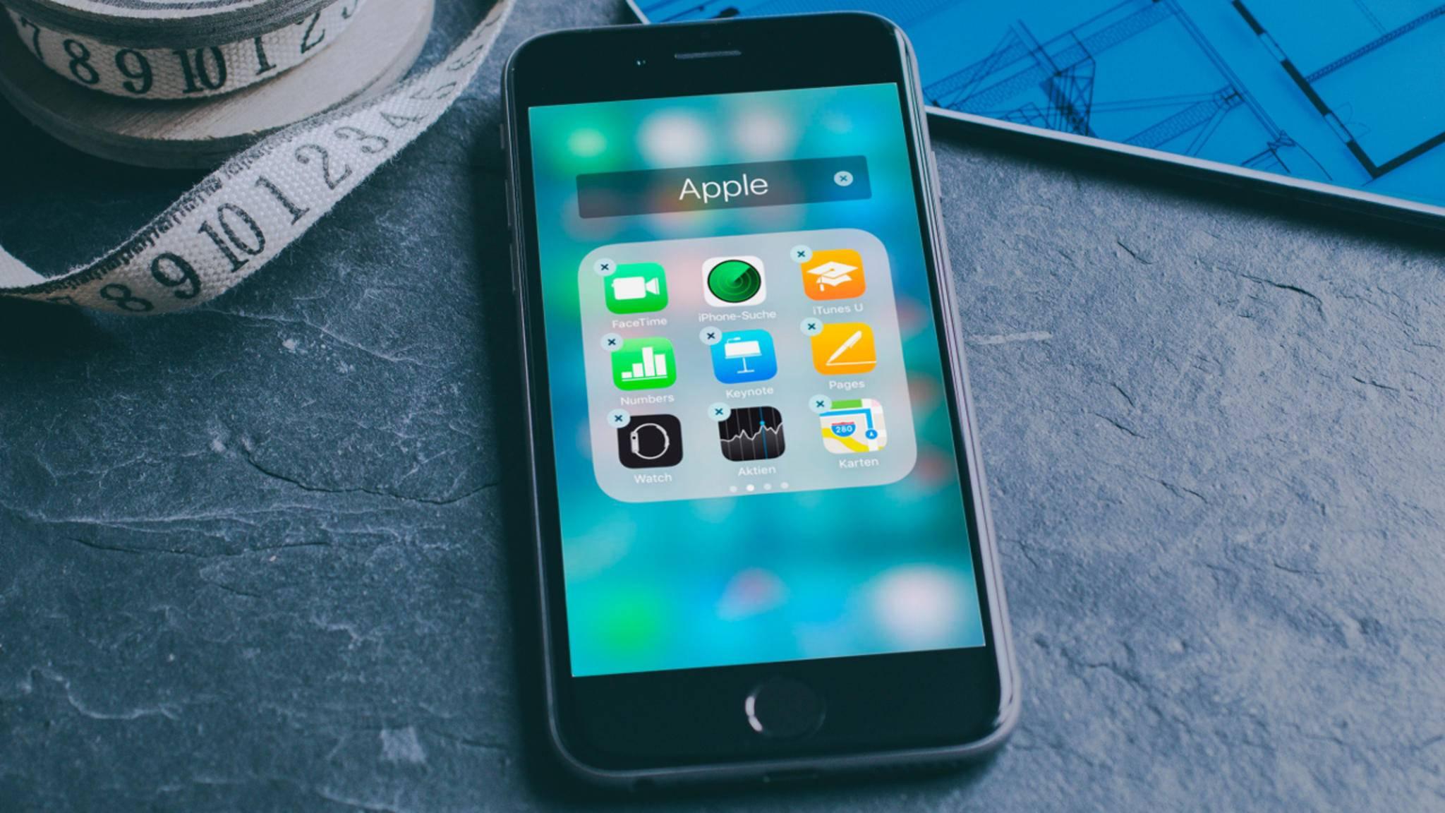 Apple veröffentlicht weiterhin fleißig Beta-Versionen von iOS 10.2.