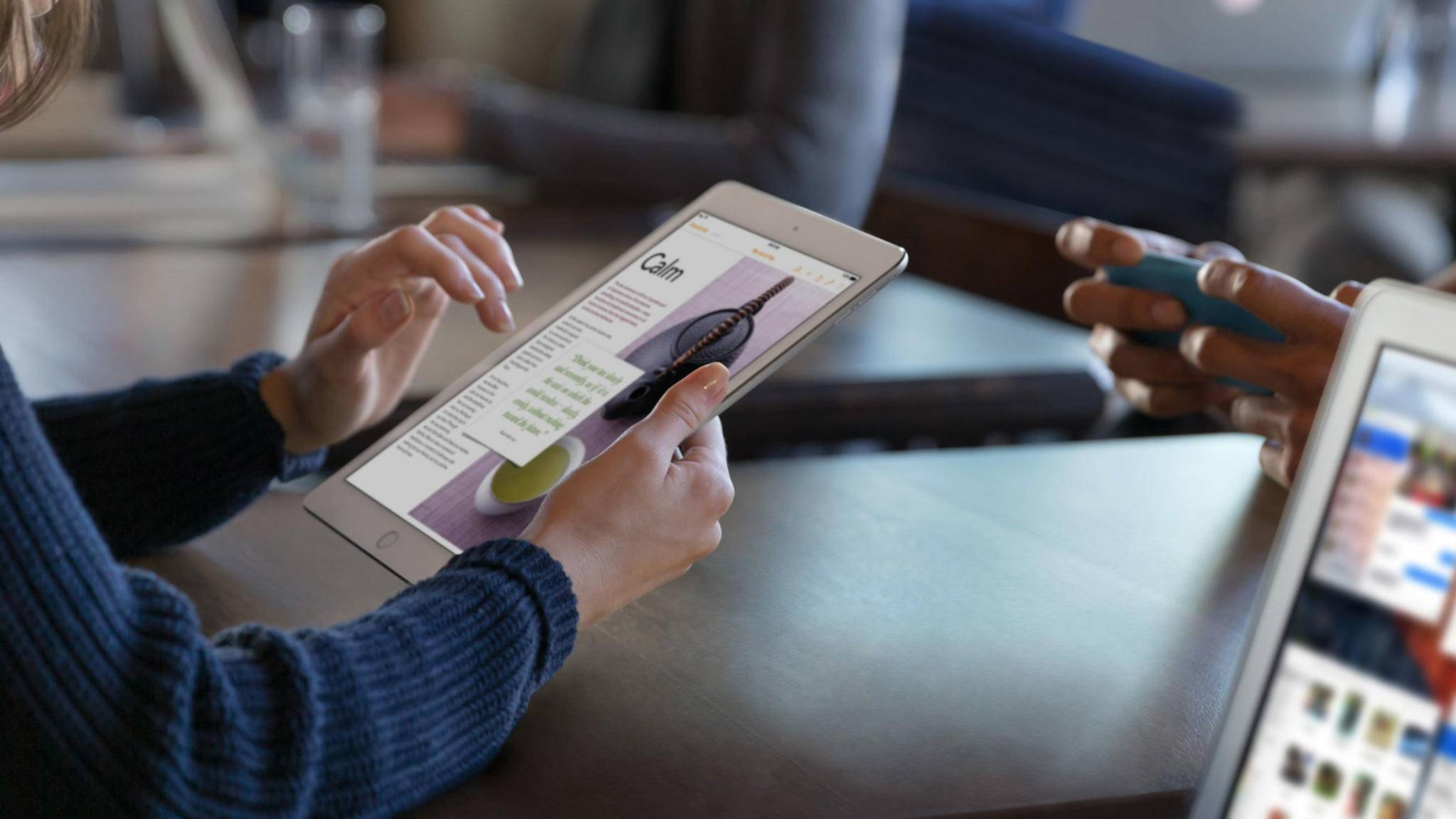 Dank der AirPrint-Funktion kann auch mit dem iPad ganz einfach gedruckt werden.