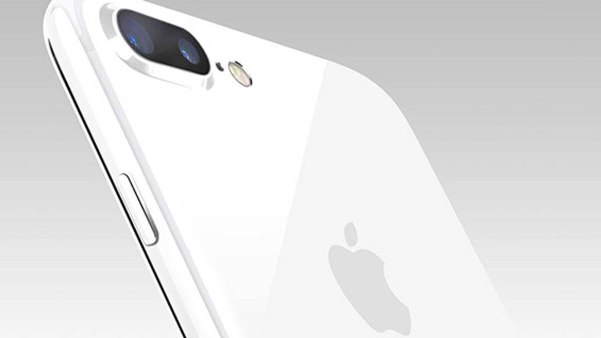 Wie würde das iPhone 7 wohl in Diamantweiß aussehen?