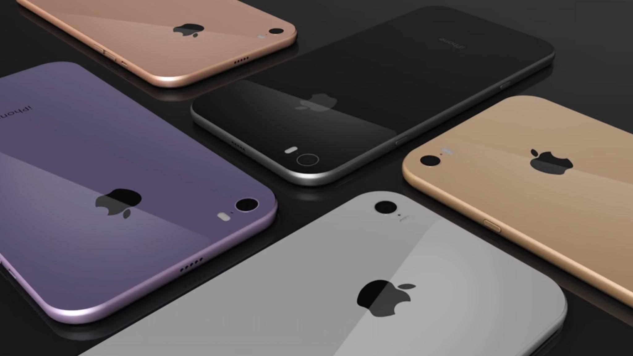 Das iPhone 8 soll angeblich auch in einer Dual-SIM-Version in China erscheinen.