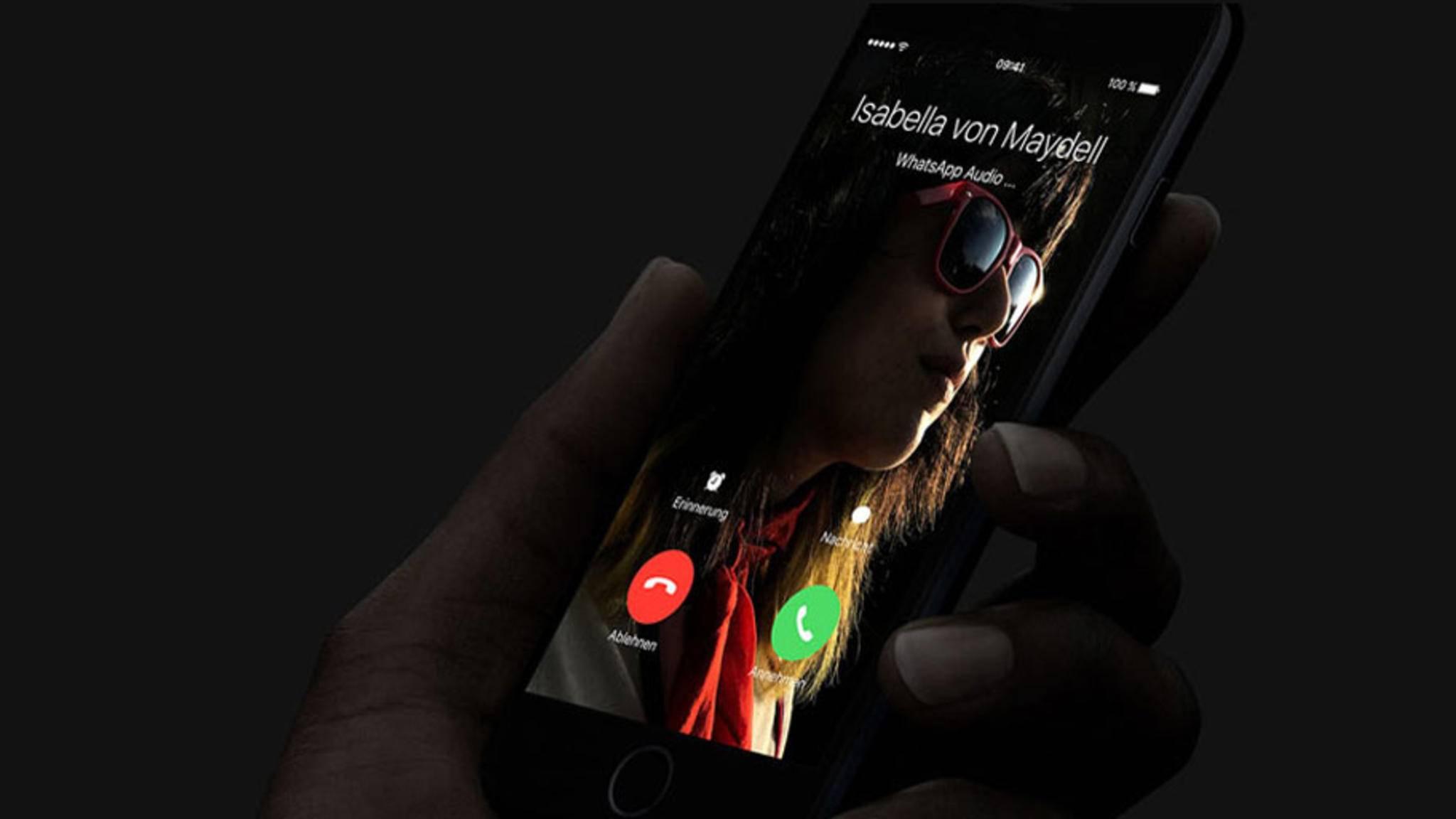 Wer nicht per WhatsApp telefonieren möchte, kann ab iOS 10.1 auch WLAN-Calls nutzen.