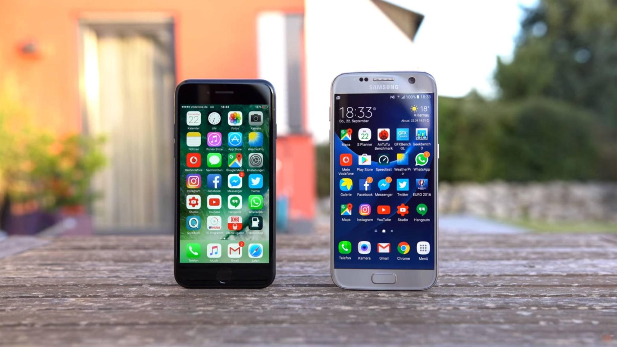 Ob iPhone oder Galaxy – Screenshots lassen sich auf den meisten Smartphones einfach machen.