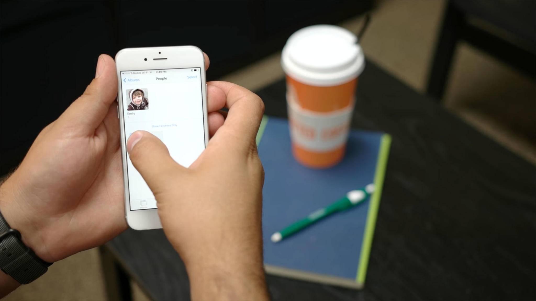 Die Gesichtserkennung auf dem iPhone funktioniert ganz gut, aber noch nicht perfekt.