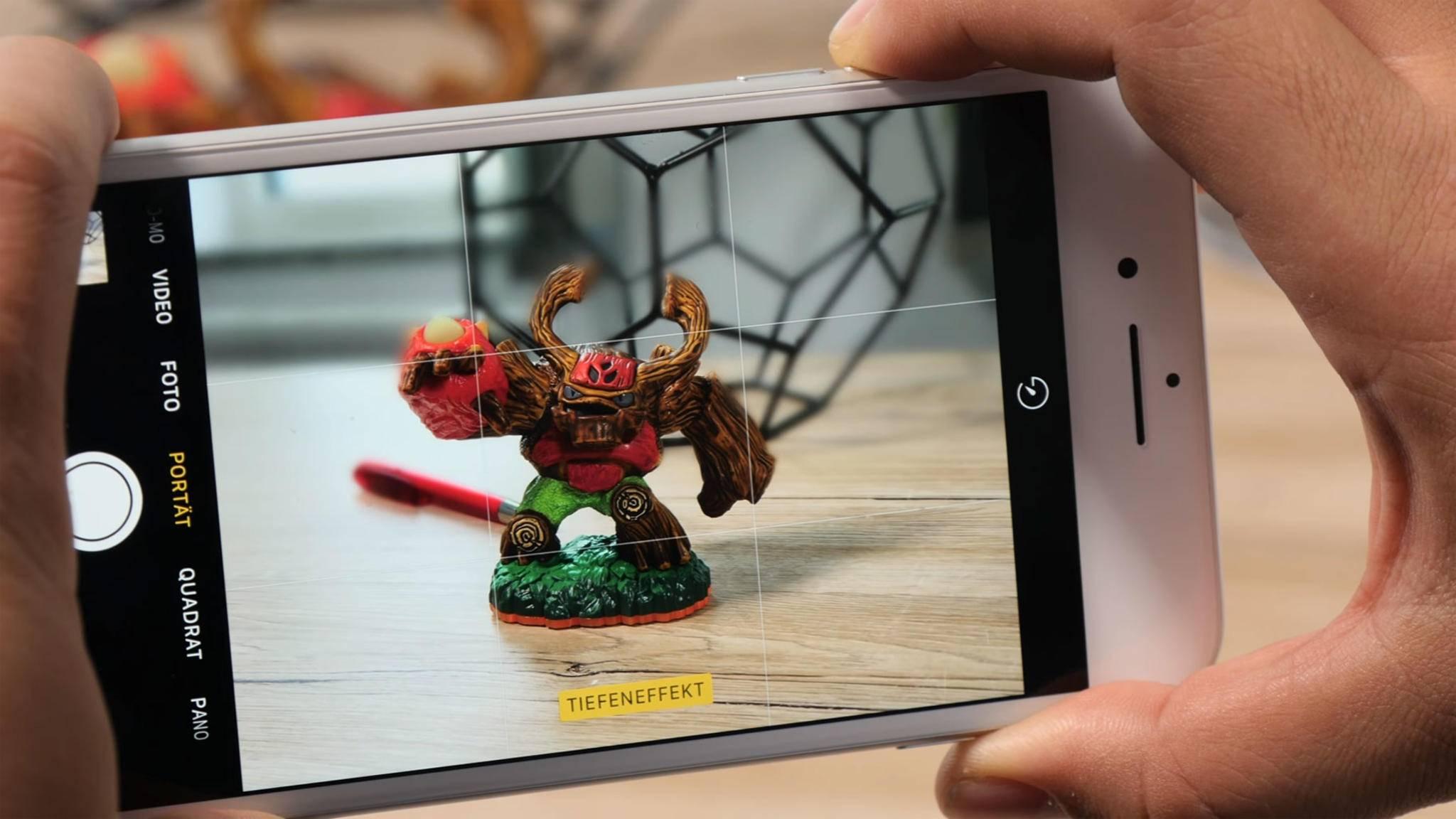 Den Porträtmodus des iPhone 7 Plus kannst Du auch auf anderen iPhones nutzen – mit Apps.