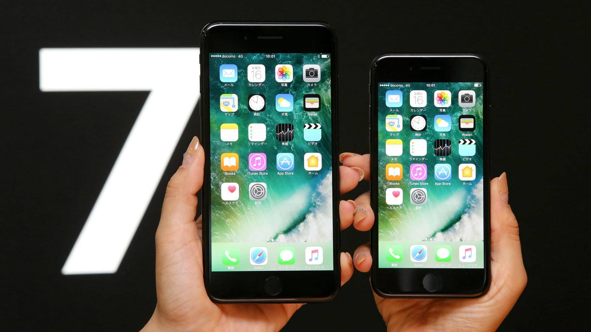2017 könnte Apple zwei größere Displaydiagonalen präsentieren.