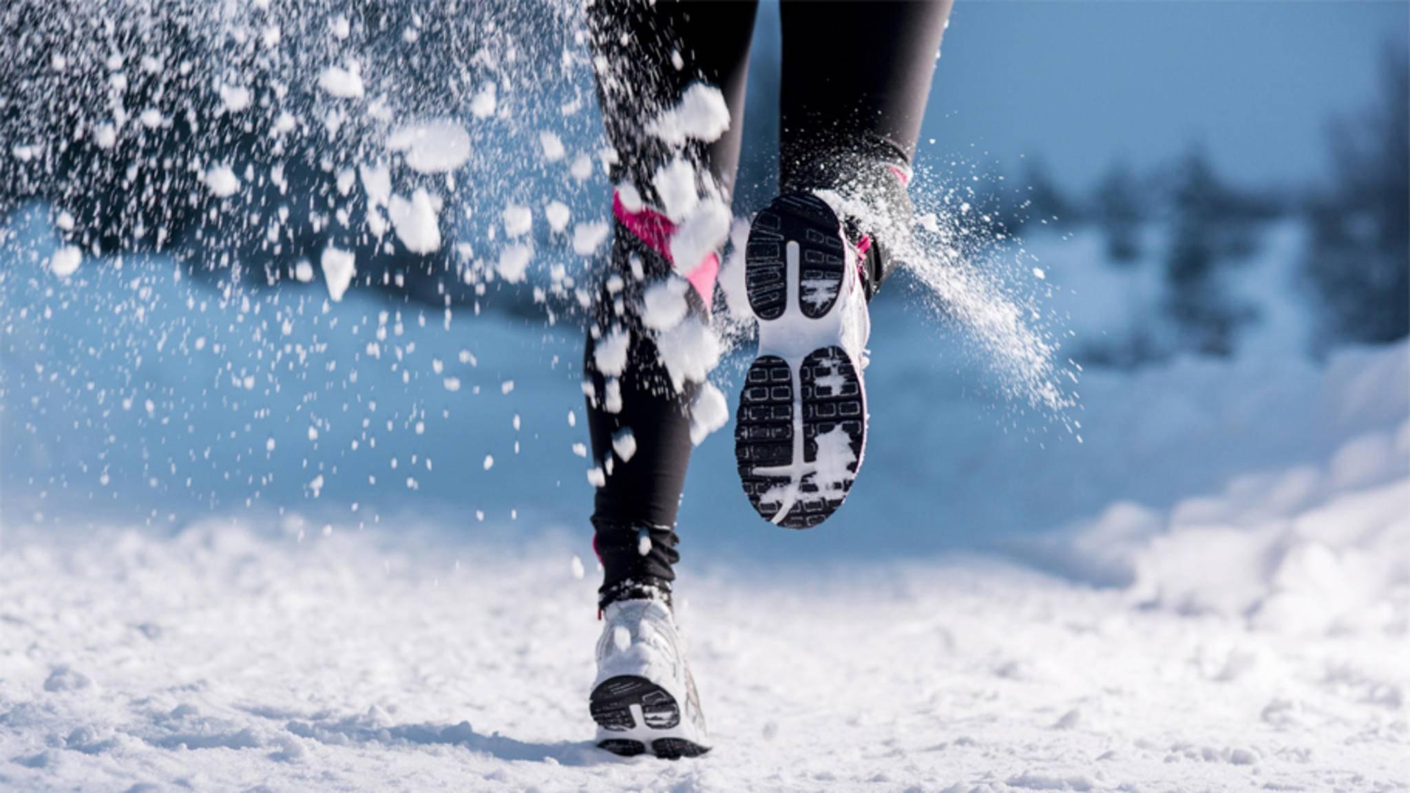 Mit den richtigen Tipps ist Laufen auch im Winter ein Vergnügen.