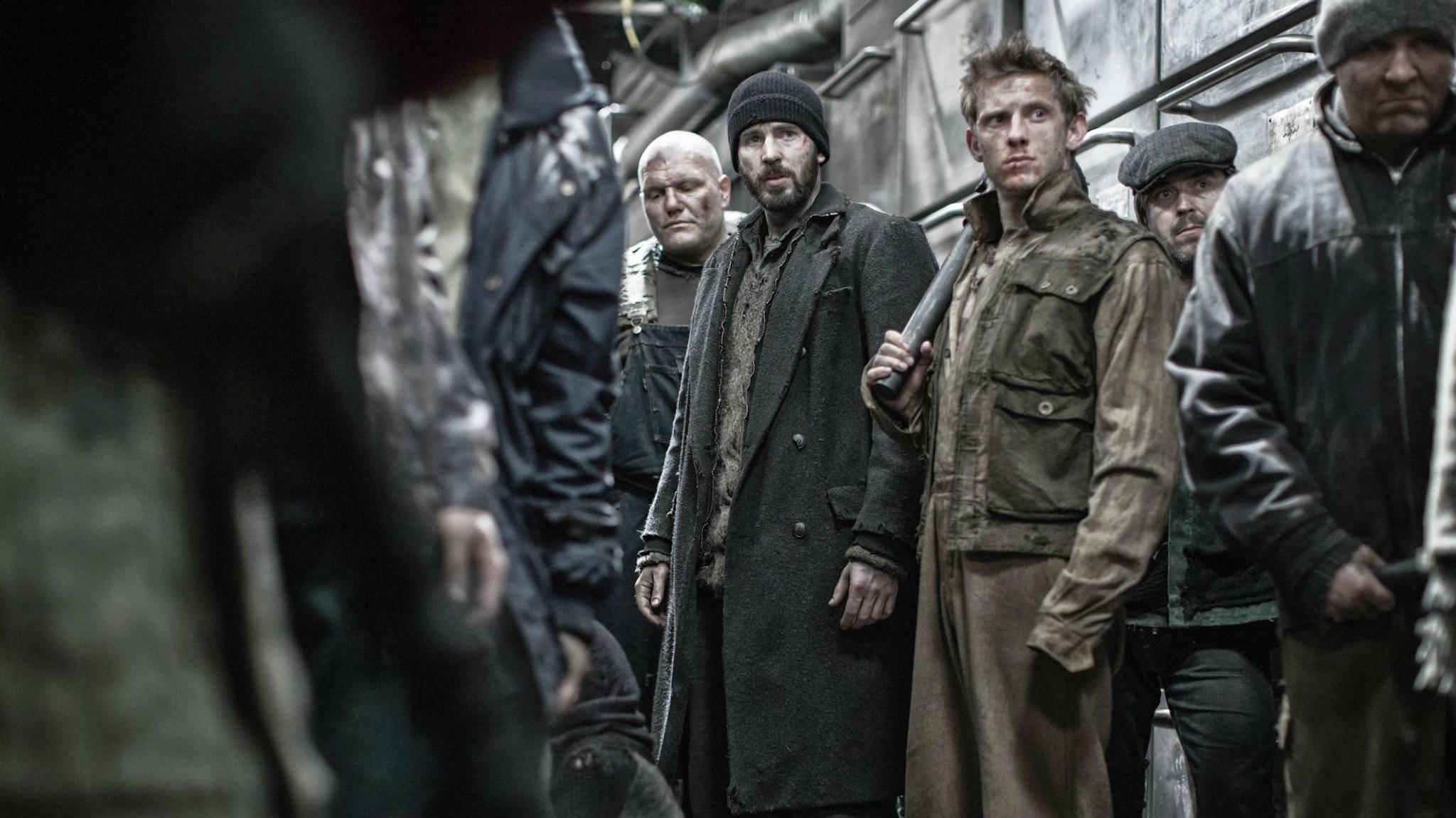 """Ob Chris Evans auch in der Serie zu """"Snowpiercer"""" mitspielen wird?"""