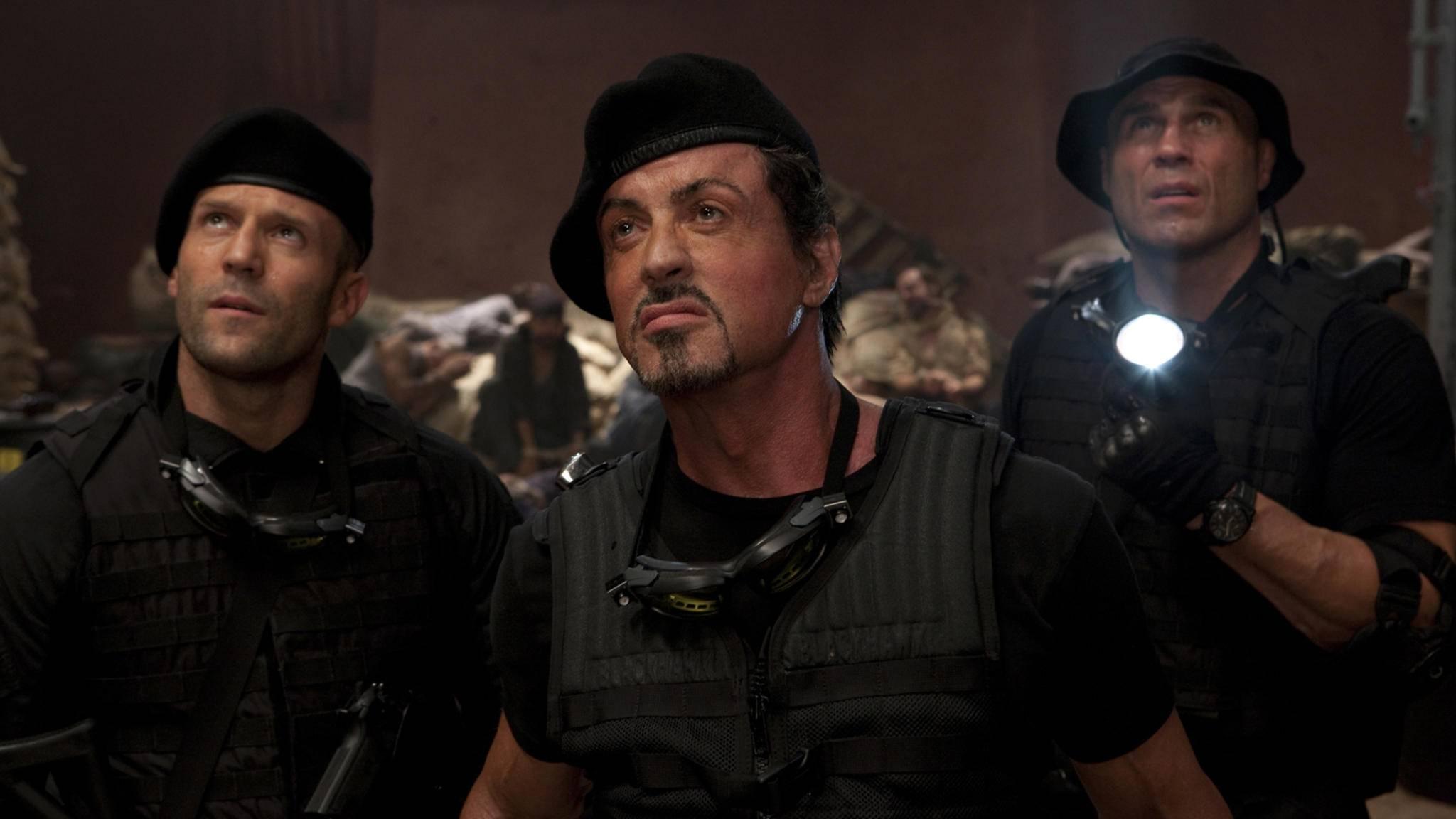 """Ja, was haben wir denn da? Sylvester Stallone wird schon bald in """"The Expendables 4"""" für Action sorgen."""