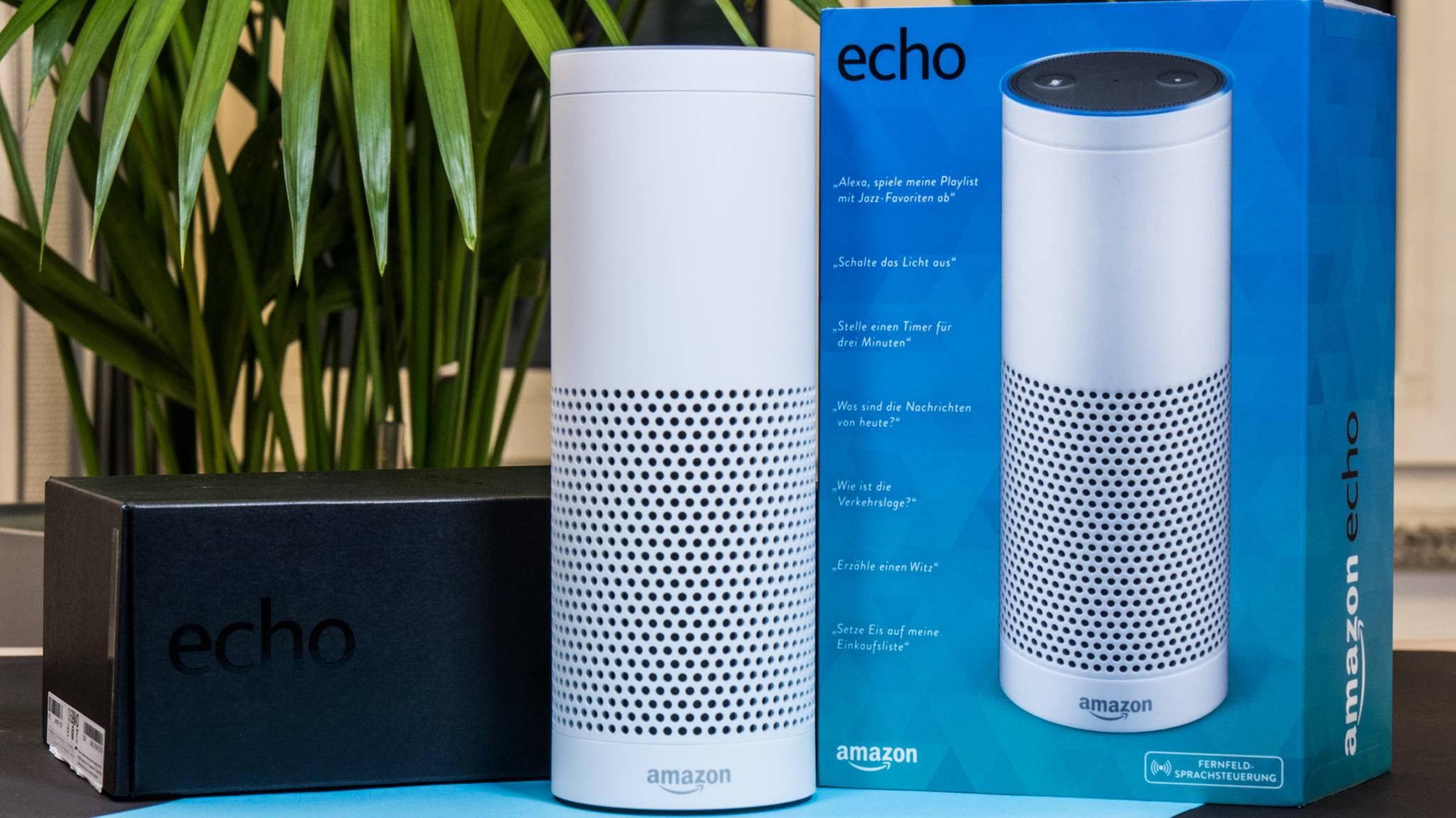 Der Amazon Echo ist ein schlauer Lautsprecher fürs Smart Home.