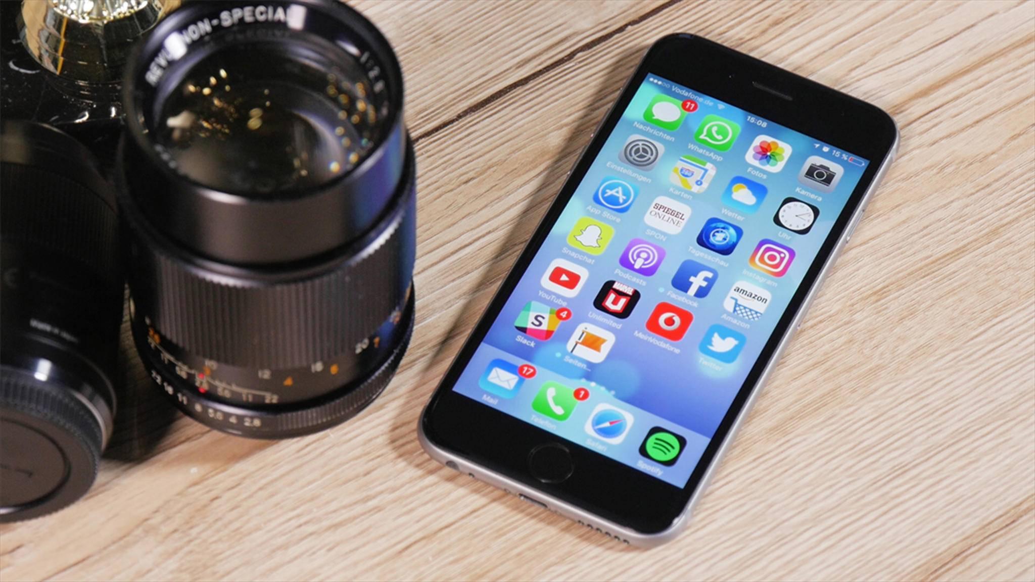 So nimmst Du RAW-Fotos mit dem iPhone 7 auf.
