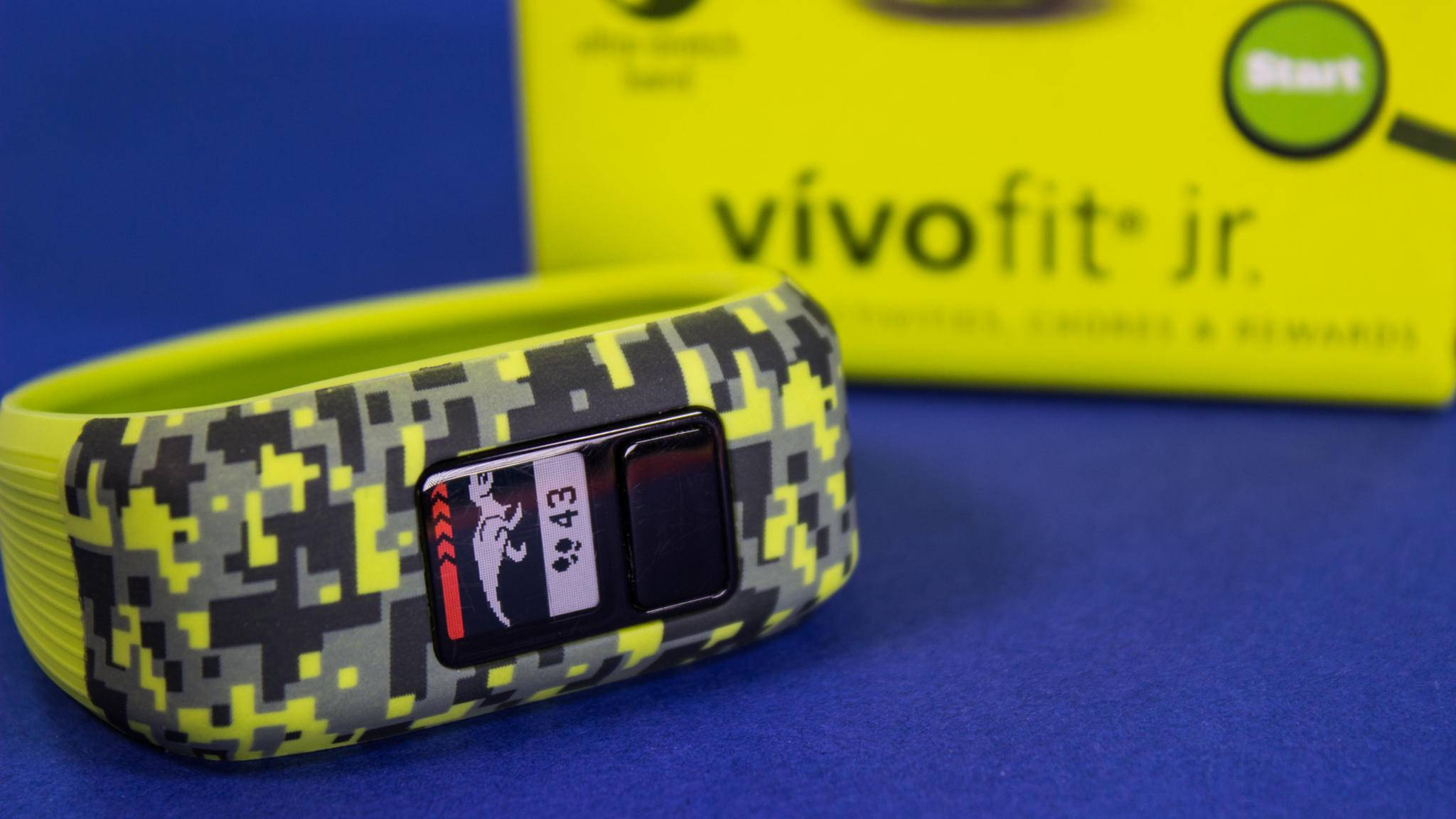 Fitness-Tracker für Kinder: Der Vivofit jr.