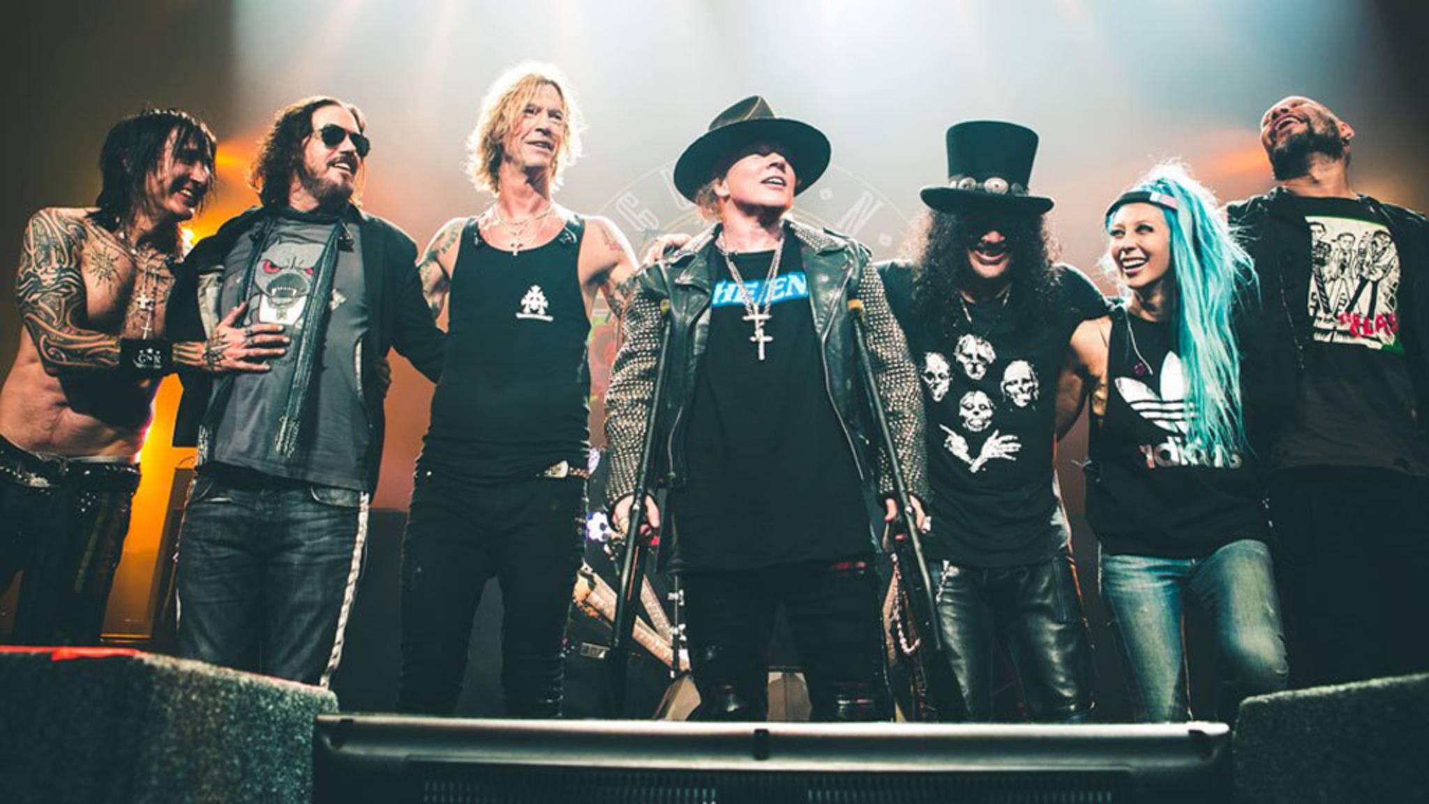 Guns N' Roses kommen 2017 auf Tour durch Europa.