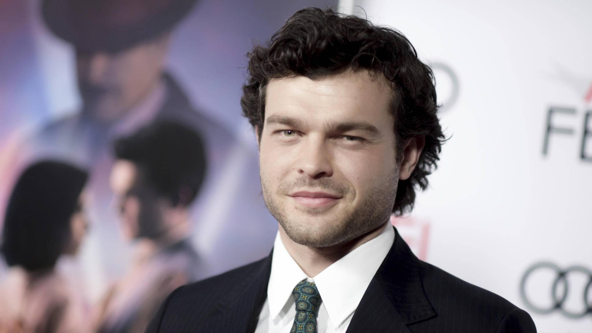 Han Solos neues Gesicht: Alden Ehrenreich tritt bald in Harrison Fords Fußstapfen.