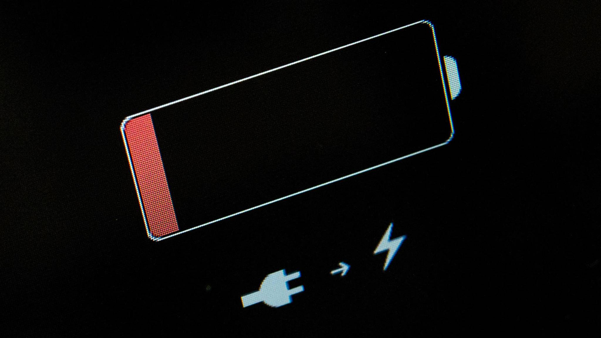 Du solltest darauf achten, das gefundene iPhone weiterhin mit Strom zu versorgen.