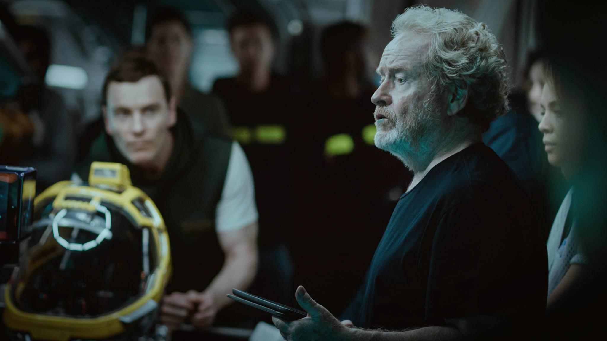 Ridley Scott widmet sich demnächst seiner ersten TV-Serie.