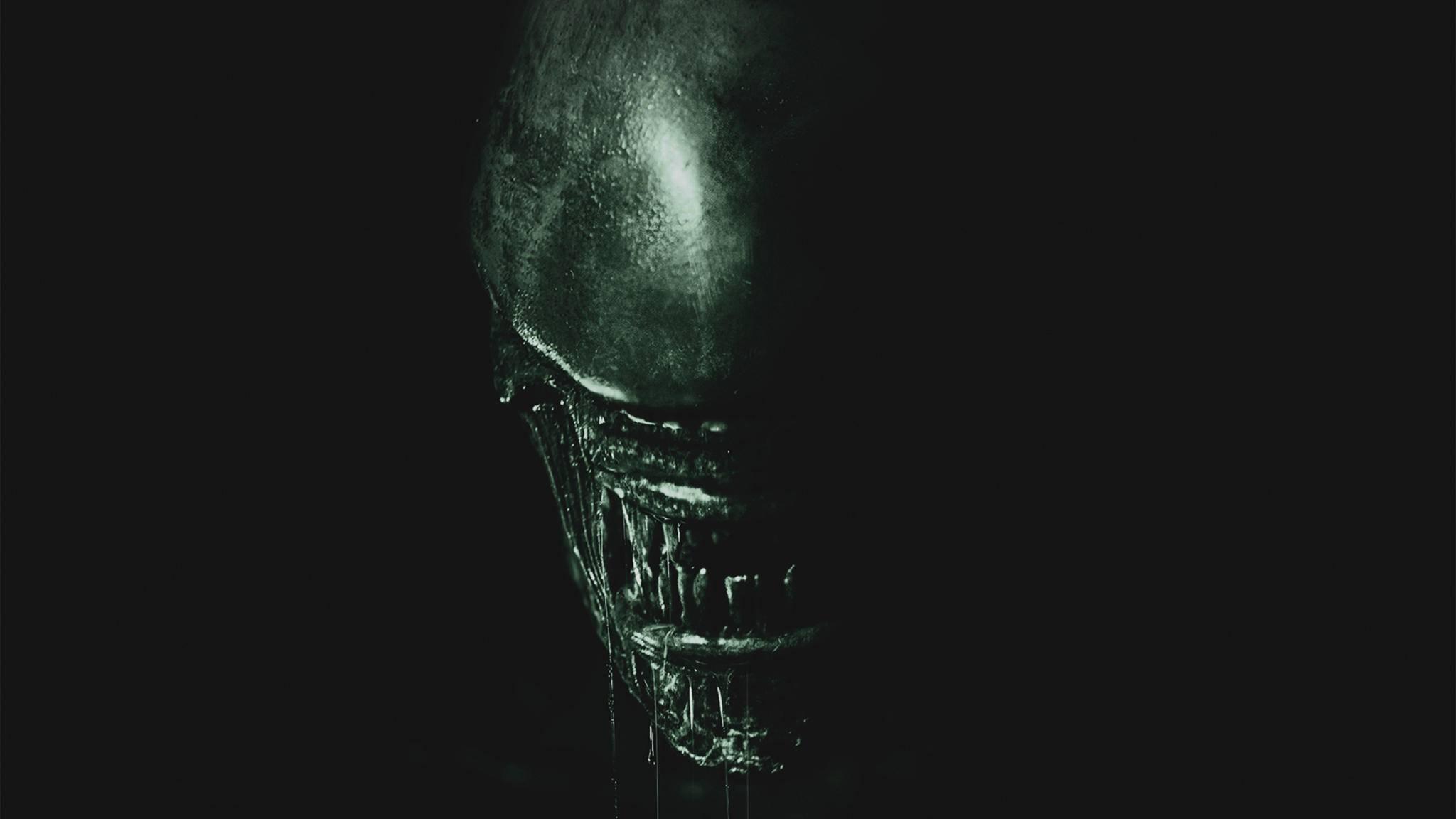 """Langer Kopf, keine Augen, Doppelmaul: Das """"Alien"""" ist seit 1979 die Essenz des außerirdischen Schreckens."""