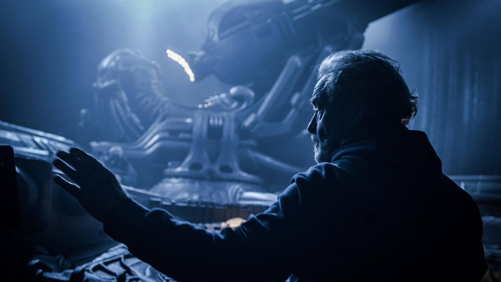 """Ridley Scott hat mit dem """"Alien""""-Franchise noch viel vor."""