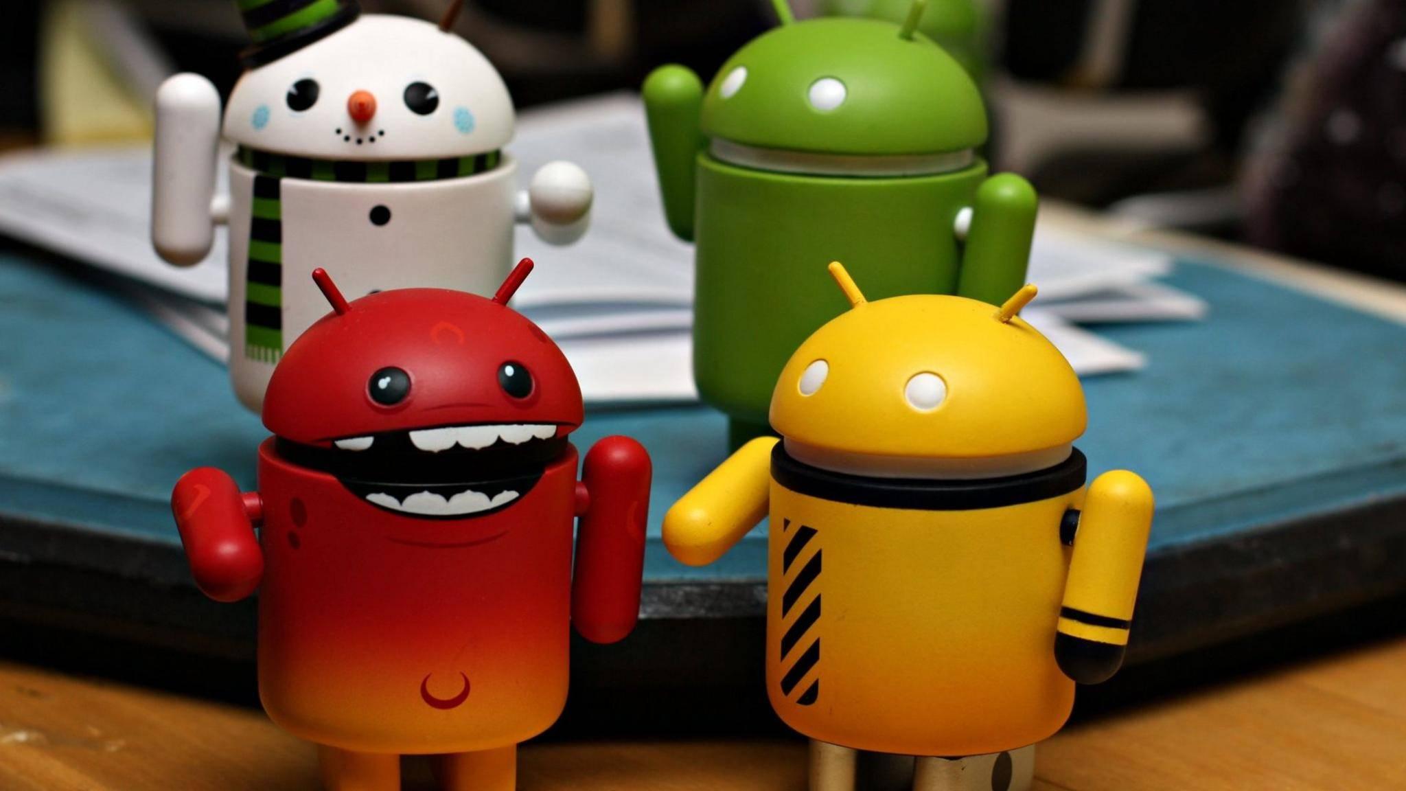 Android Roboter neu
