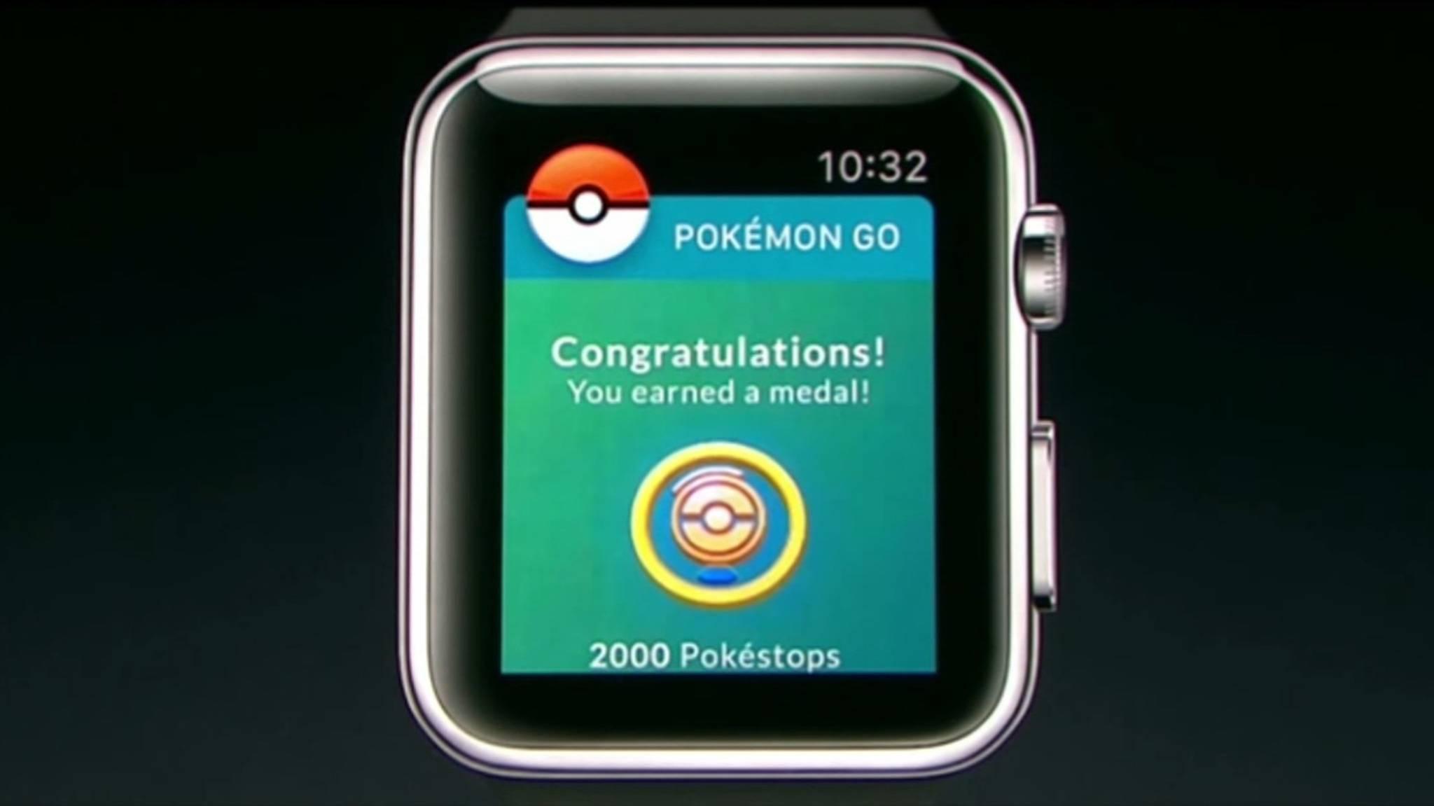 """Bis zum Release der """"Pokémon Go""""-App für die Apple Watch soll es nicht mehr lange dauern."""