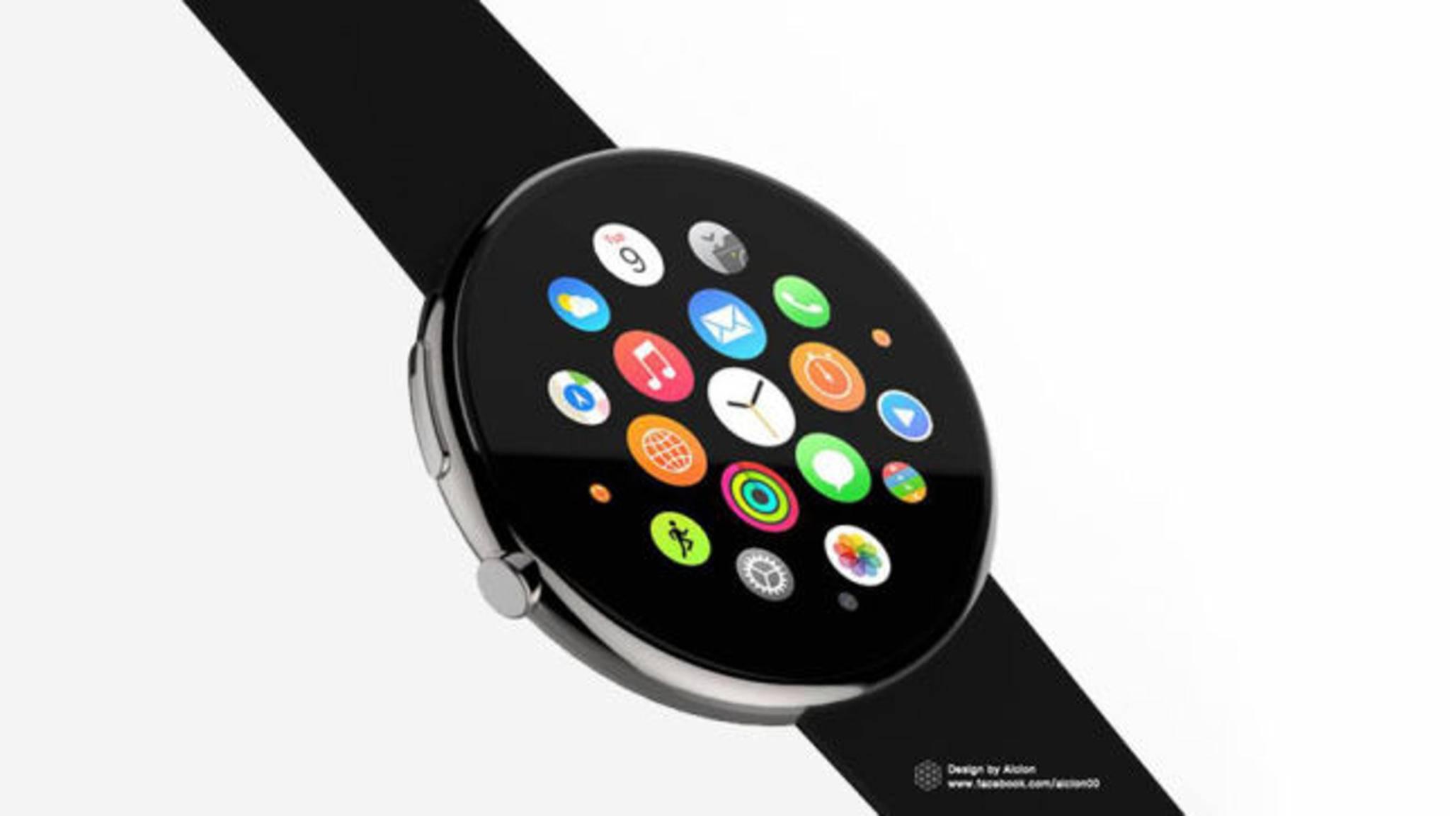 Bekommt die Apple Watch bald ein rundes Display?