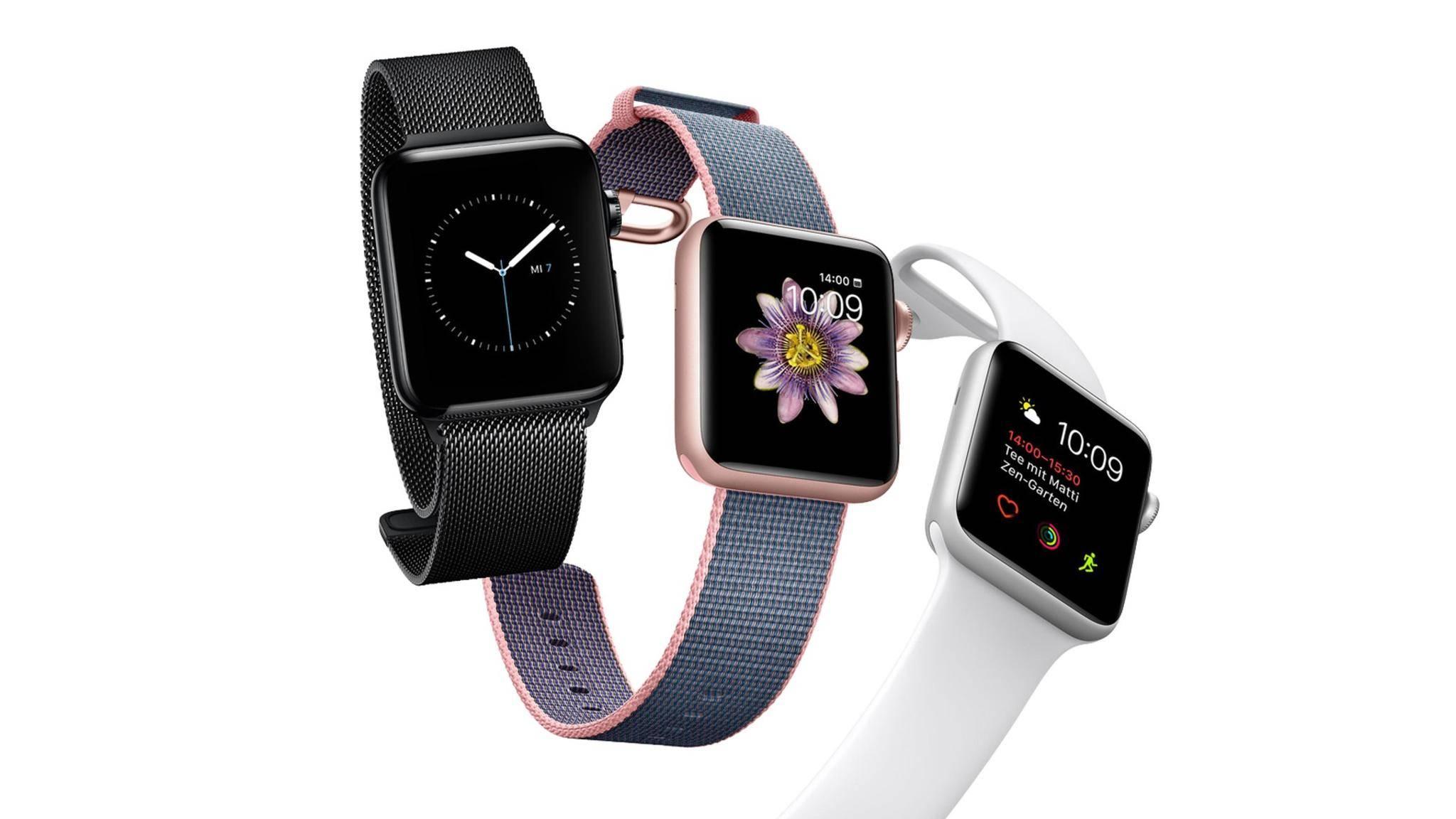Die nächste Generation der Apple Watch könnte spürbar dünner werden als die Series 2.