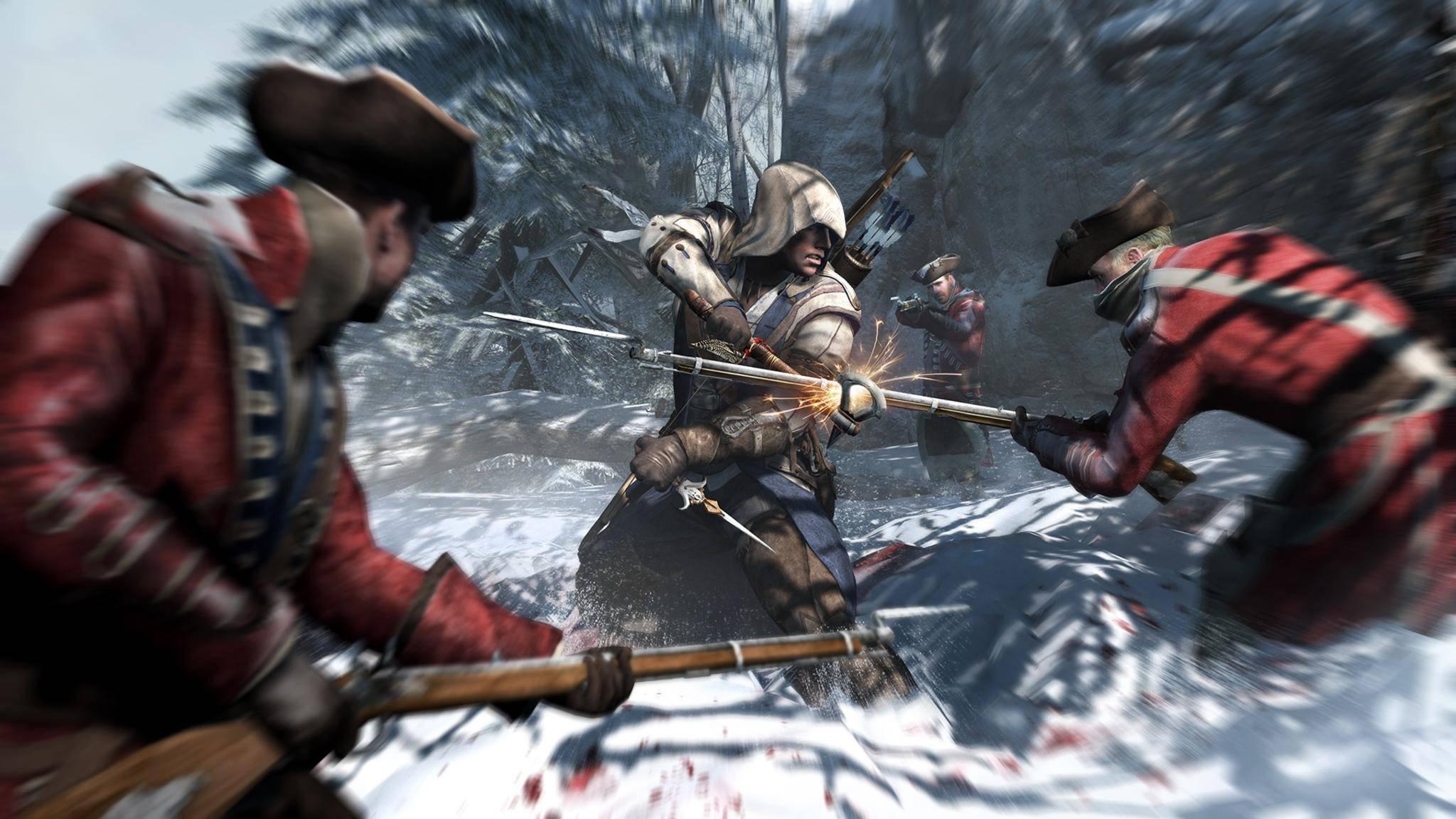 """""""Assssin's Creed 3"""" gibt es im Dezember kostenlos als PC-Download."""