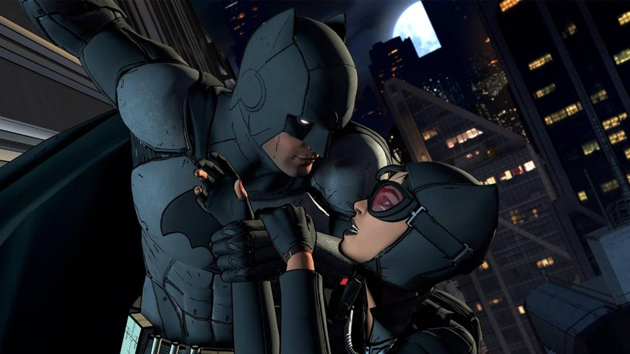 "Batman und Catwoman spielen in ""Batman: The Telltale Series"" wichtige Rollen."