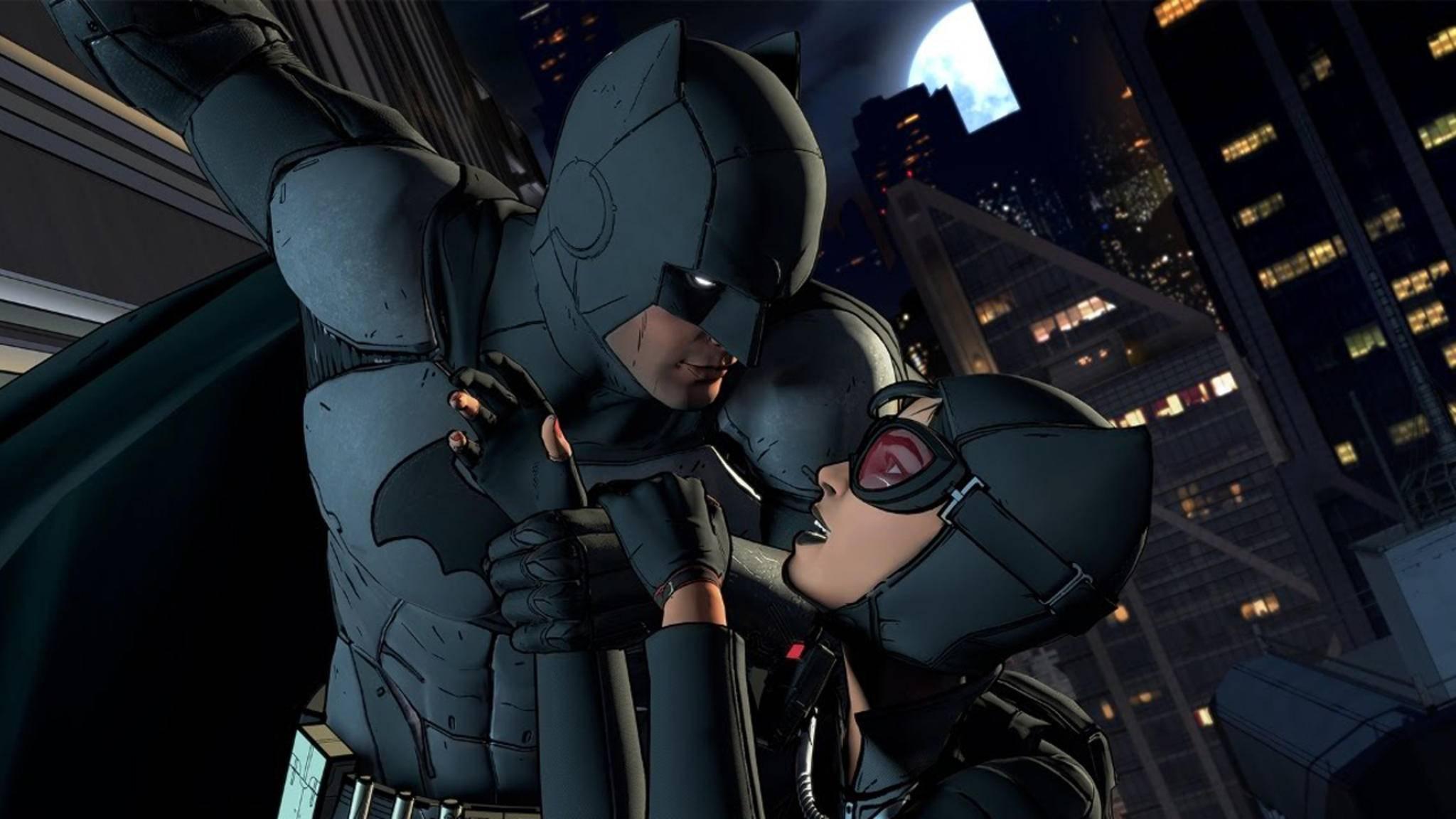 """Batman und Catwoman spielen in """"Batman: The Telltale Series"""" wichtige Rollen."""