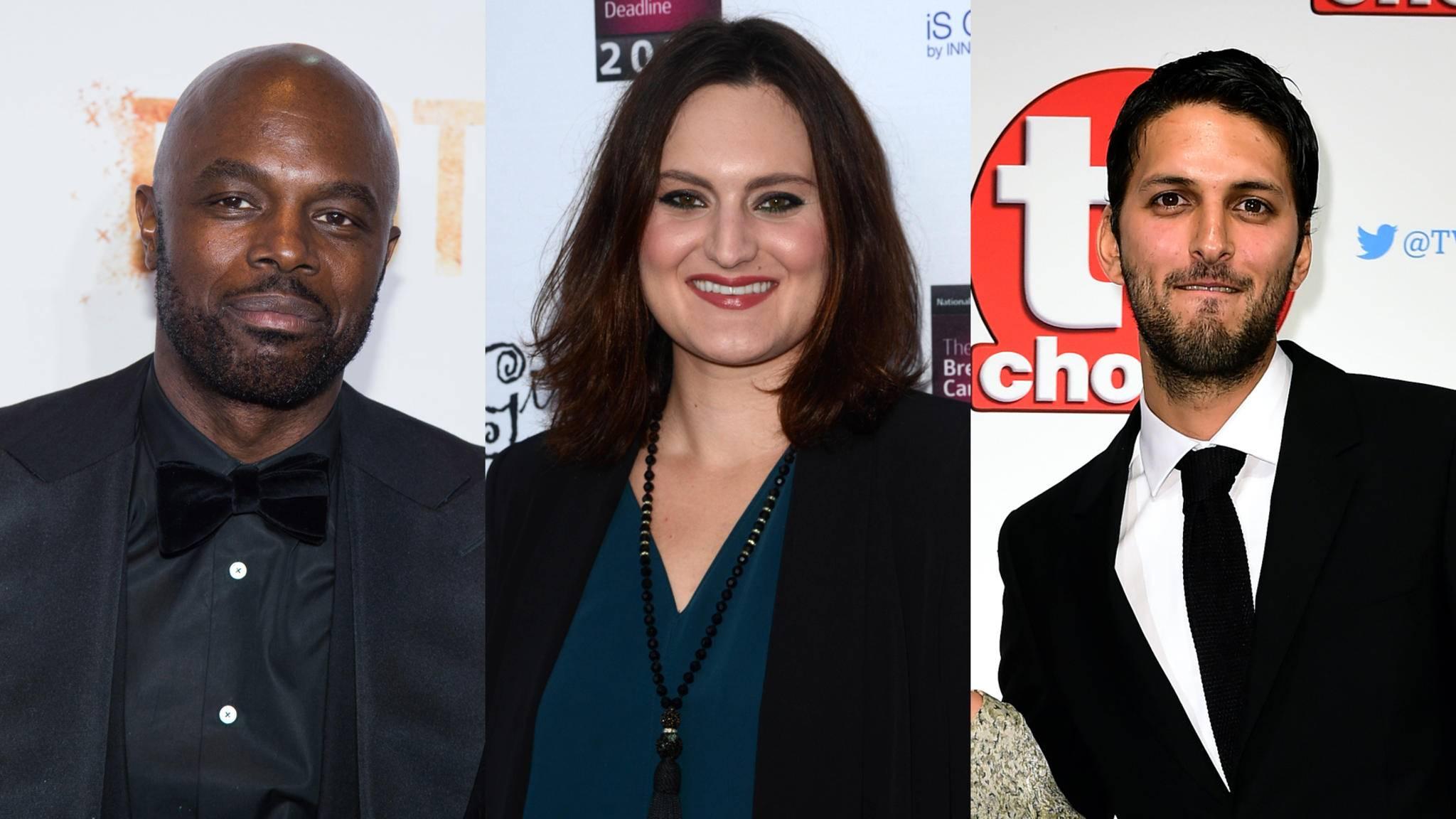 """Chris Obi, Mary Chieffo und Shazad Latif sind als Klingonen bei """"Star Trek: Discovery"""" dabei."""