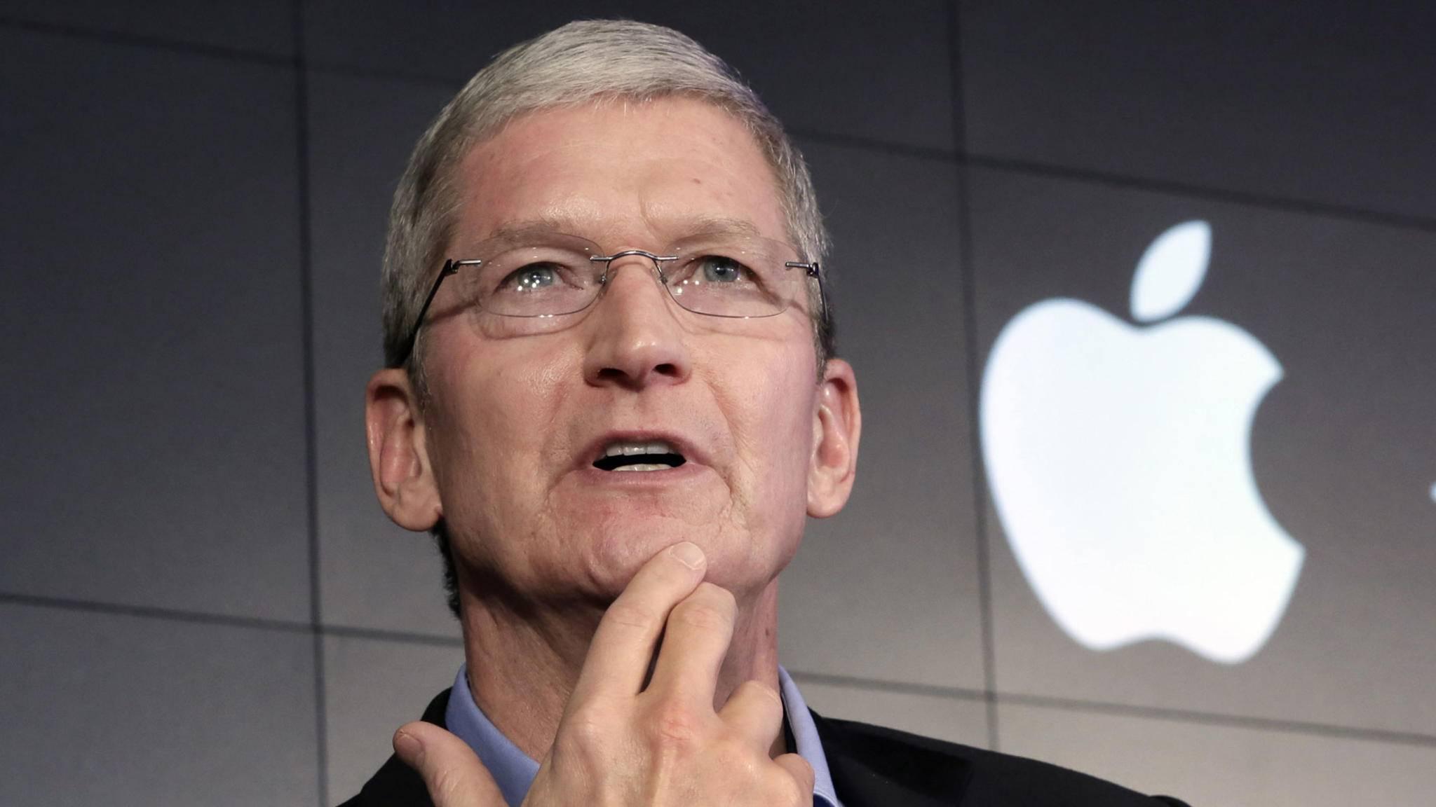 Tim Cook ist Frühaufsteher: Mails verschickt der Apple-Chef mitunter ab 4:30 Uhr.