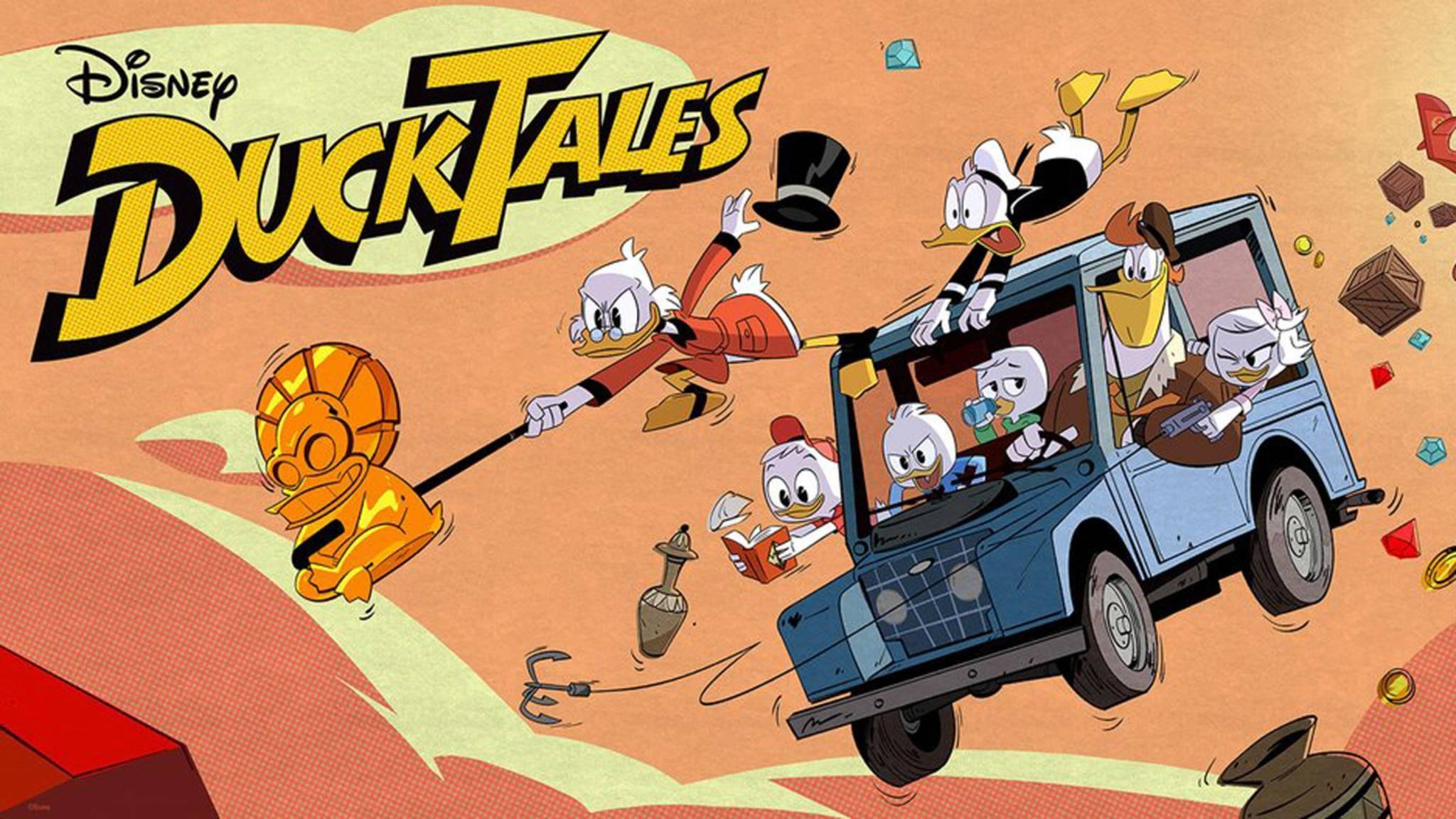 """Im Sommer 2017 gehen die """"DuckTales"""" in eine neue Runde."""