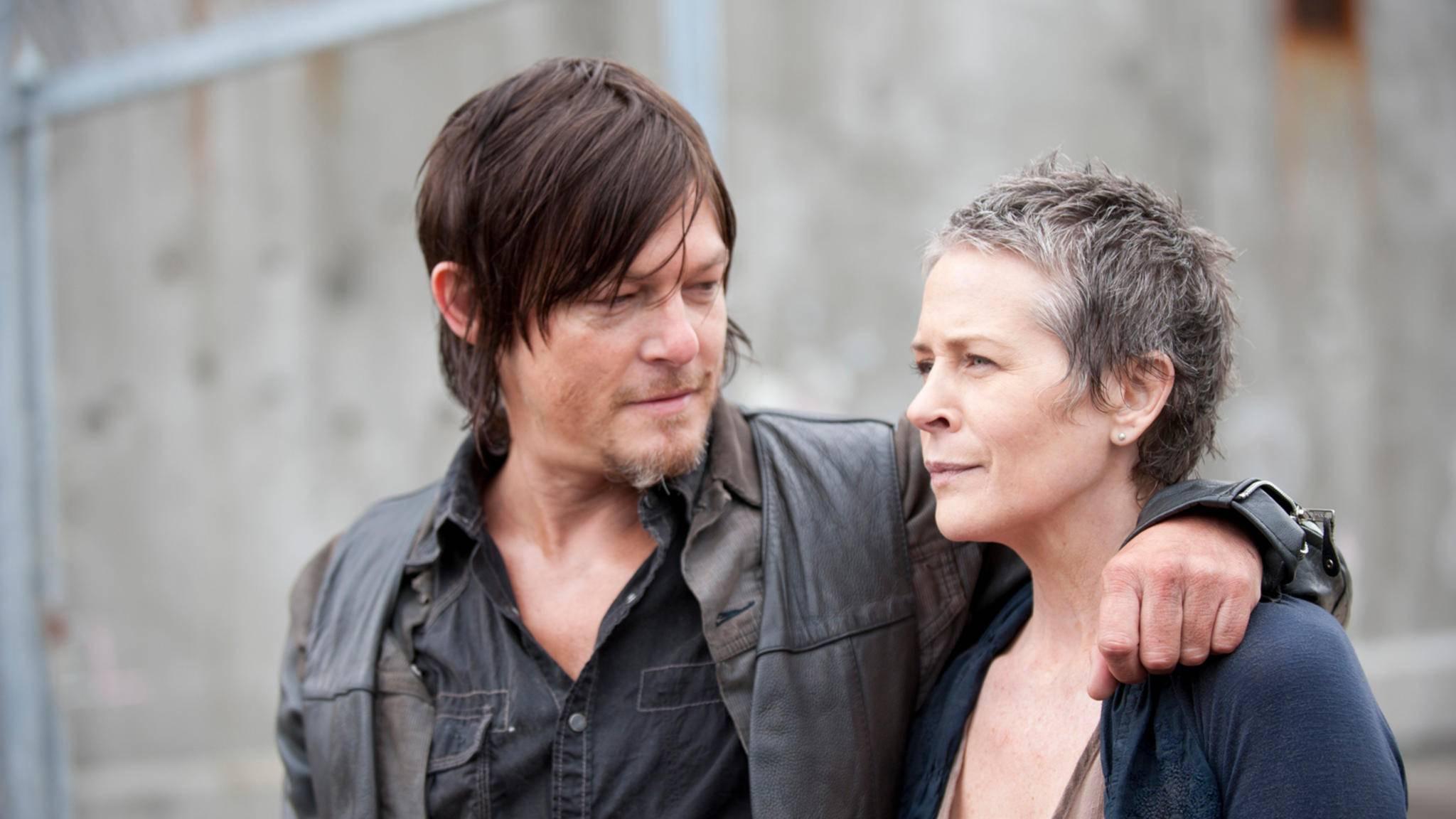 """Daryl und Carol gingen in der """"The Walking Dead""""-Vergangenheit durch dick und dünn."""