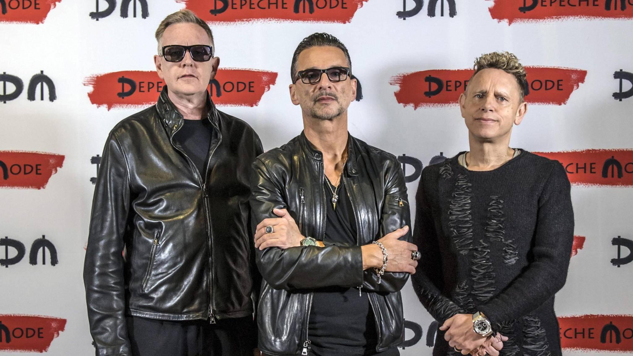 Auch die Jungs von Depeche Mode verwöhnen uns 2017 endlich wieder mit einem neuen Album.