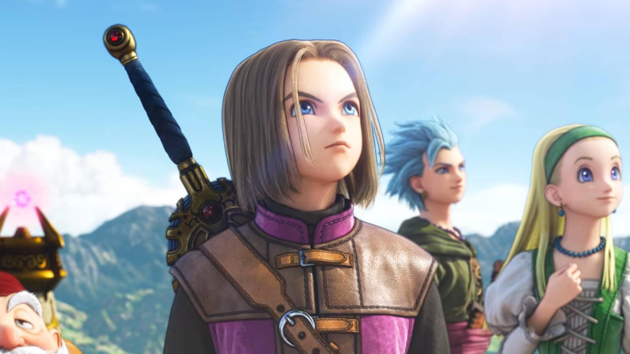 """Neues Video zu """"Dragon Quest XI"""" aufgetaucht."""