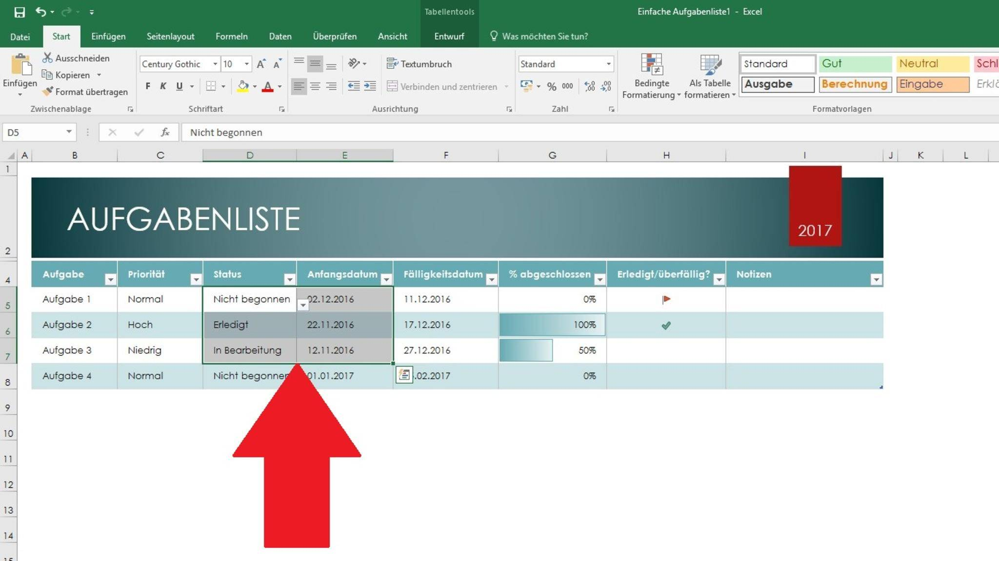 Shortcuts erleichtern Deine Arbeit mit Excel.