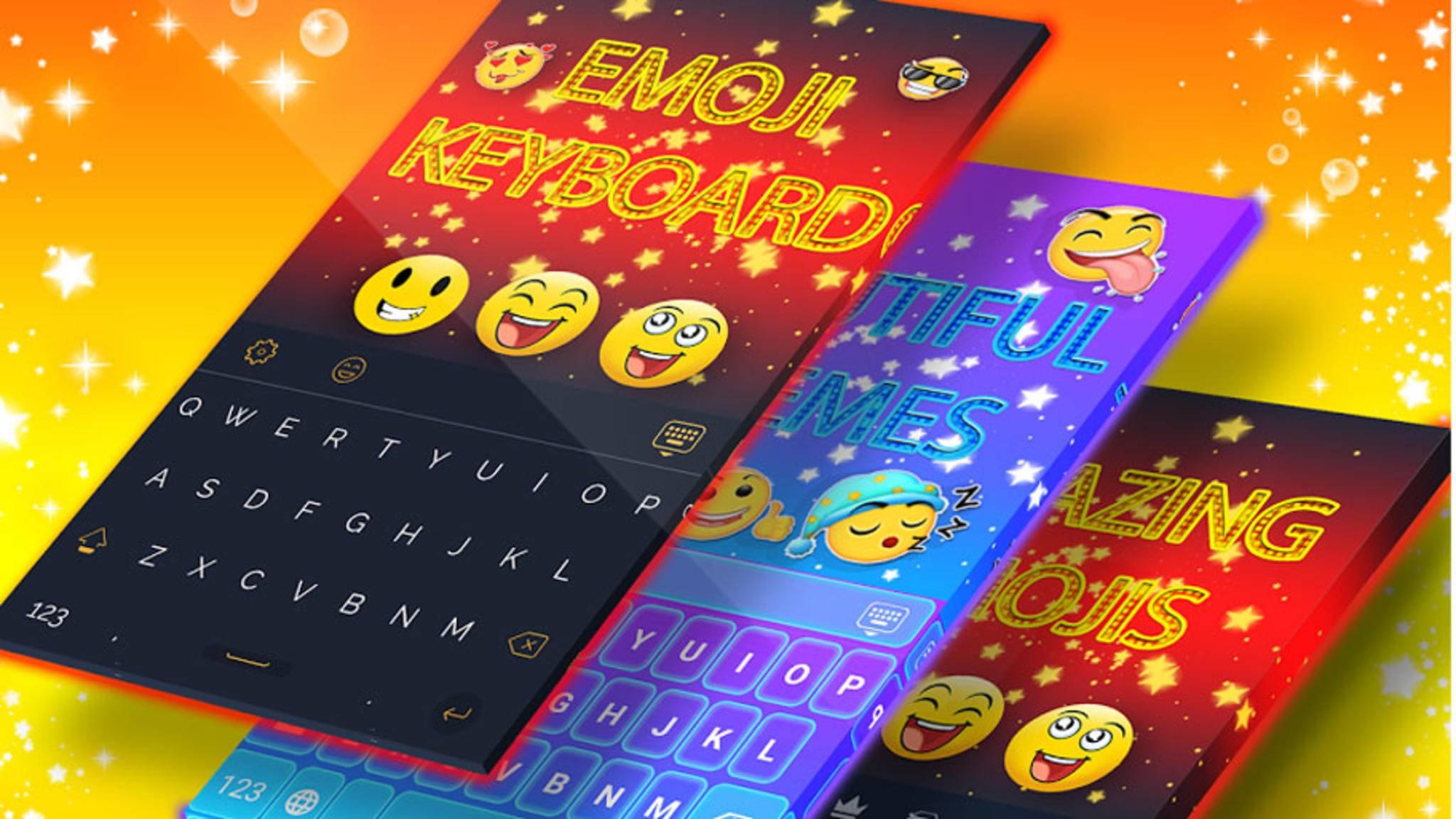 Wer Emojis mag, wird dieses Keyboard lieben.