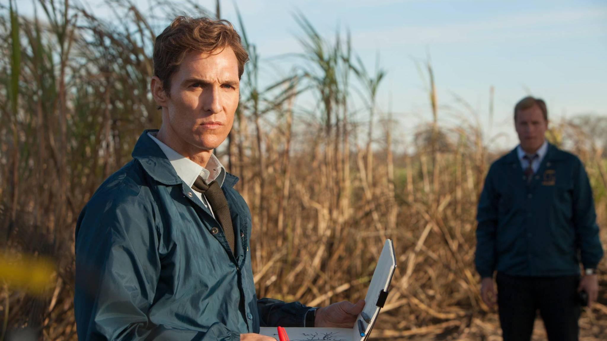 """Die Arbeit an einer dritten """"True Detective""""-Staffel hat offenbar begonnen. Kehrt Matthew McConaughey eventuell sogar zu der Serie zurück?"""