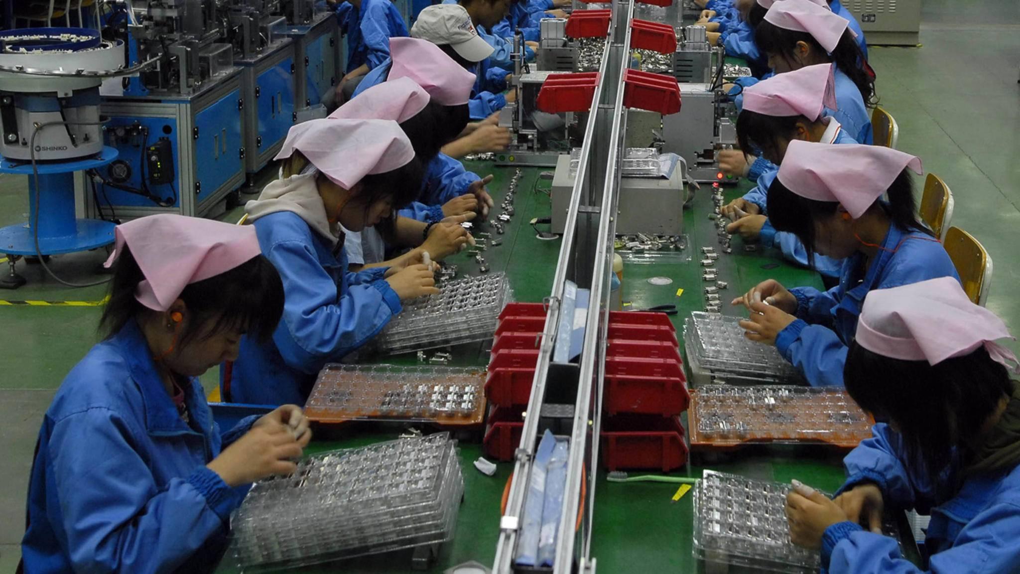 Schon bald könnte es bei iPhone-Hersteller Foxconn ganz anders aussehen.