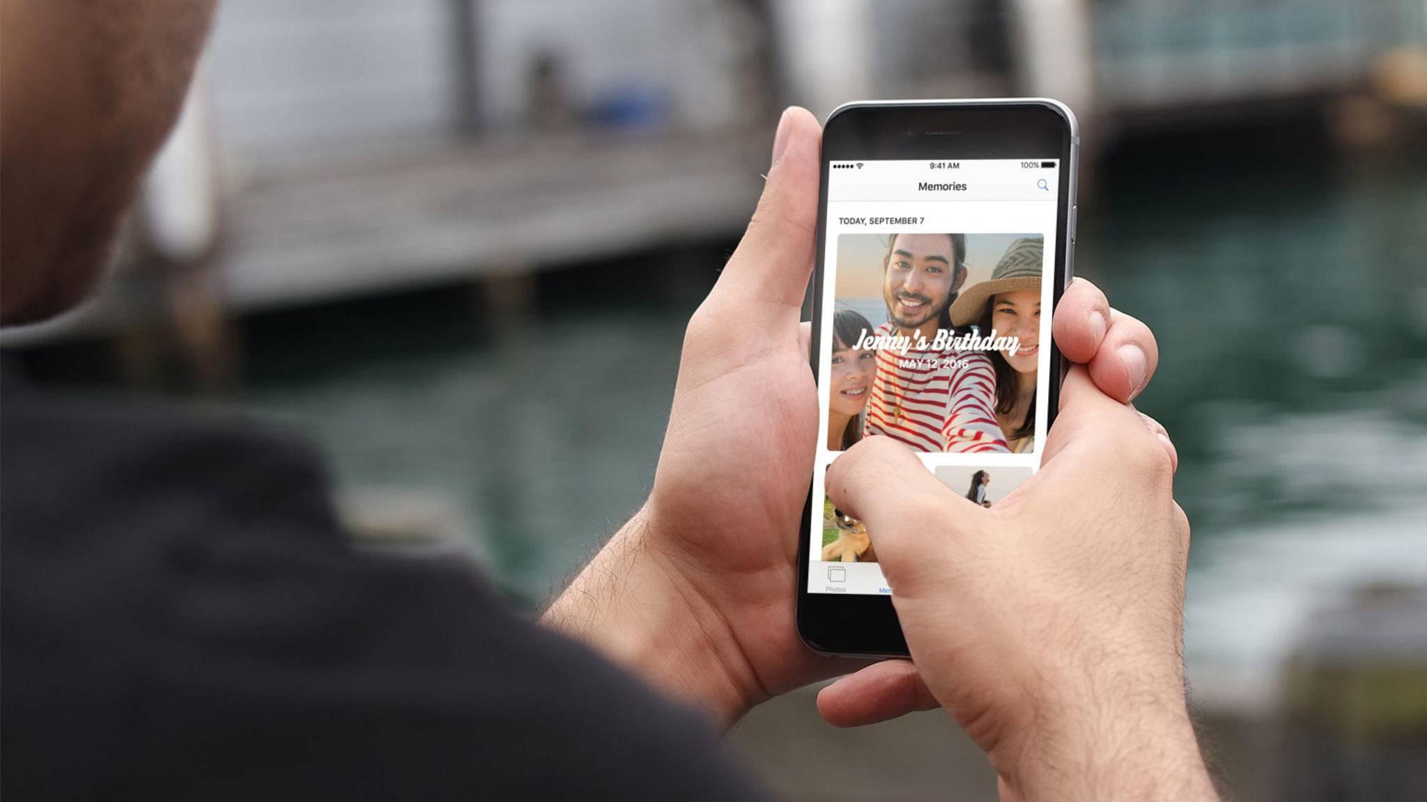 Um Bilder auf dem iPhone restlos zu löschen, reicht das einfache Entfernen nicht aus.