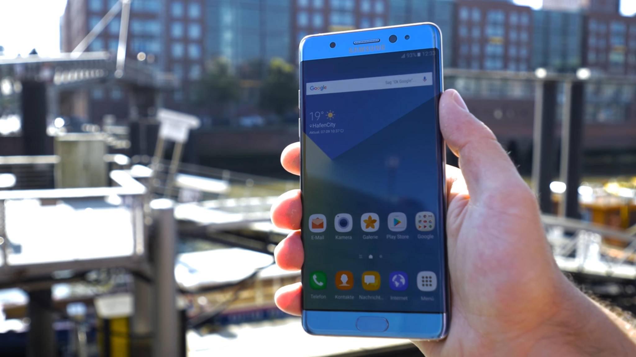 Spätes Comeback: Das Galaxy Note 7 FE erscheint wohl am 7. Juli.