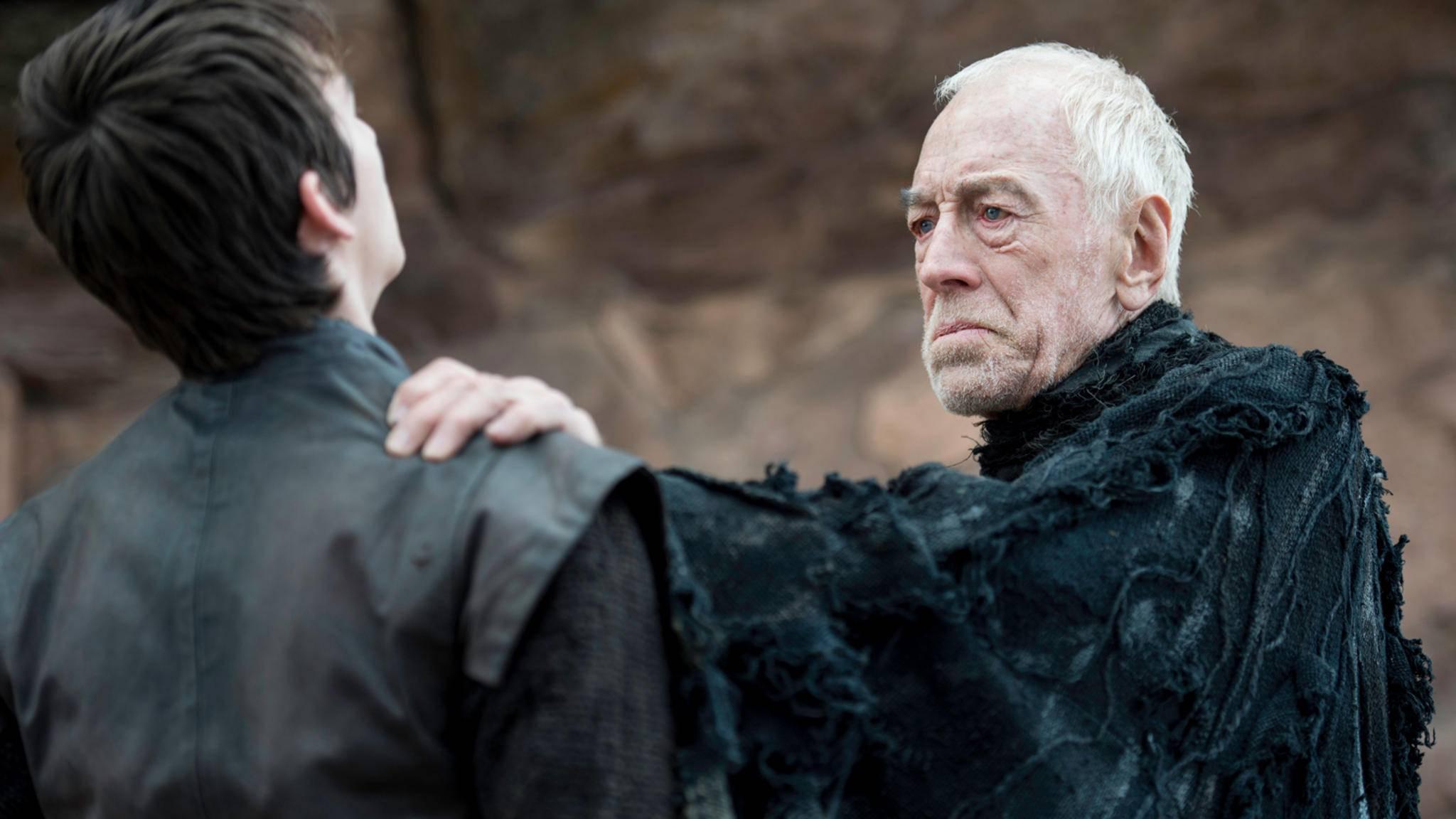 """In Staffel 6 von """"Game of Thrones"""" spielte Max von Sydow den Dreiäugigen Raben."""