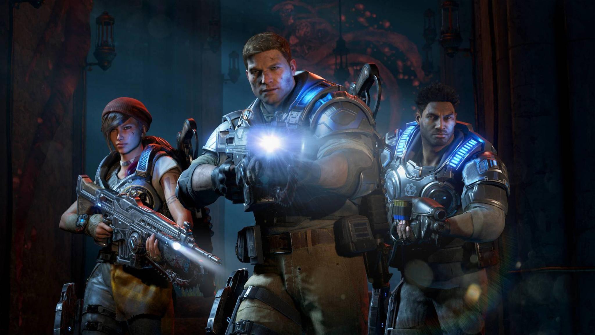 """""""Gears of War 4"""" war unter den besten Xbox One-Spielen 2016."""