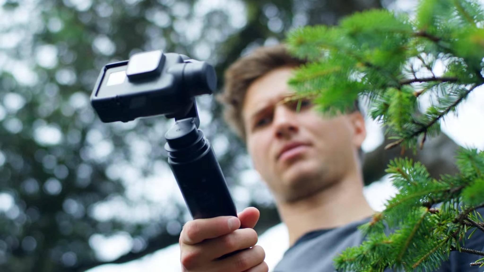 Der Kamera-Stabilisator GoPro Karma Grip sorgt angeblich für wackelfreie Aufnahmen.