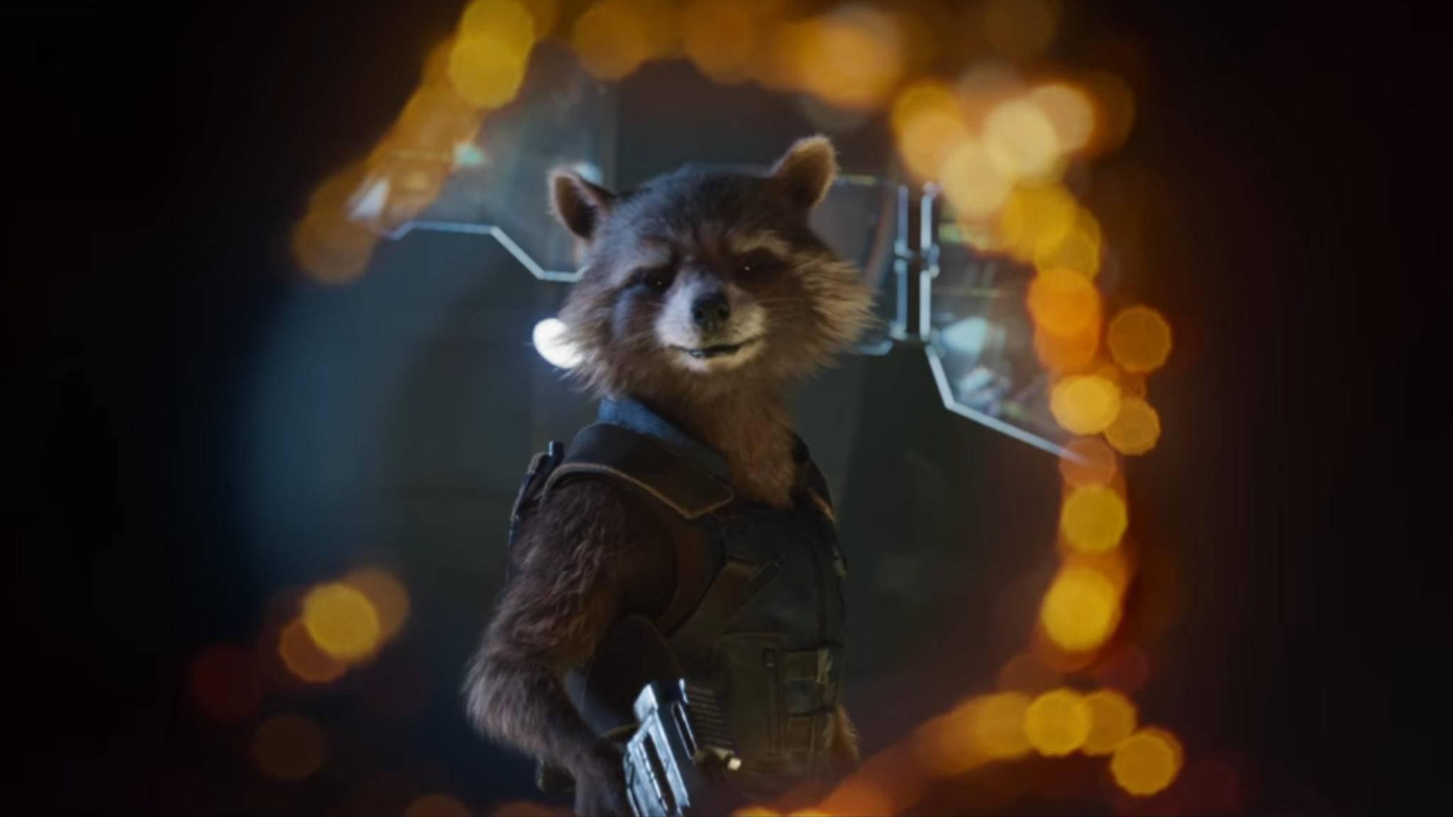 """""""Guardians of the Galaxy 2"""": Bald gibt es ein Wiedersehen mit Rocket Raccoon."""