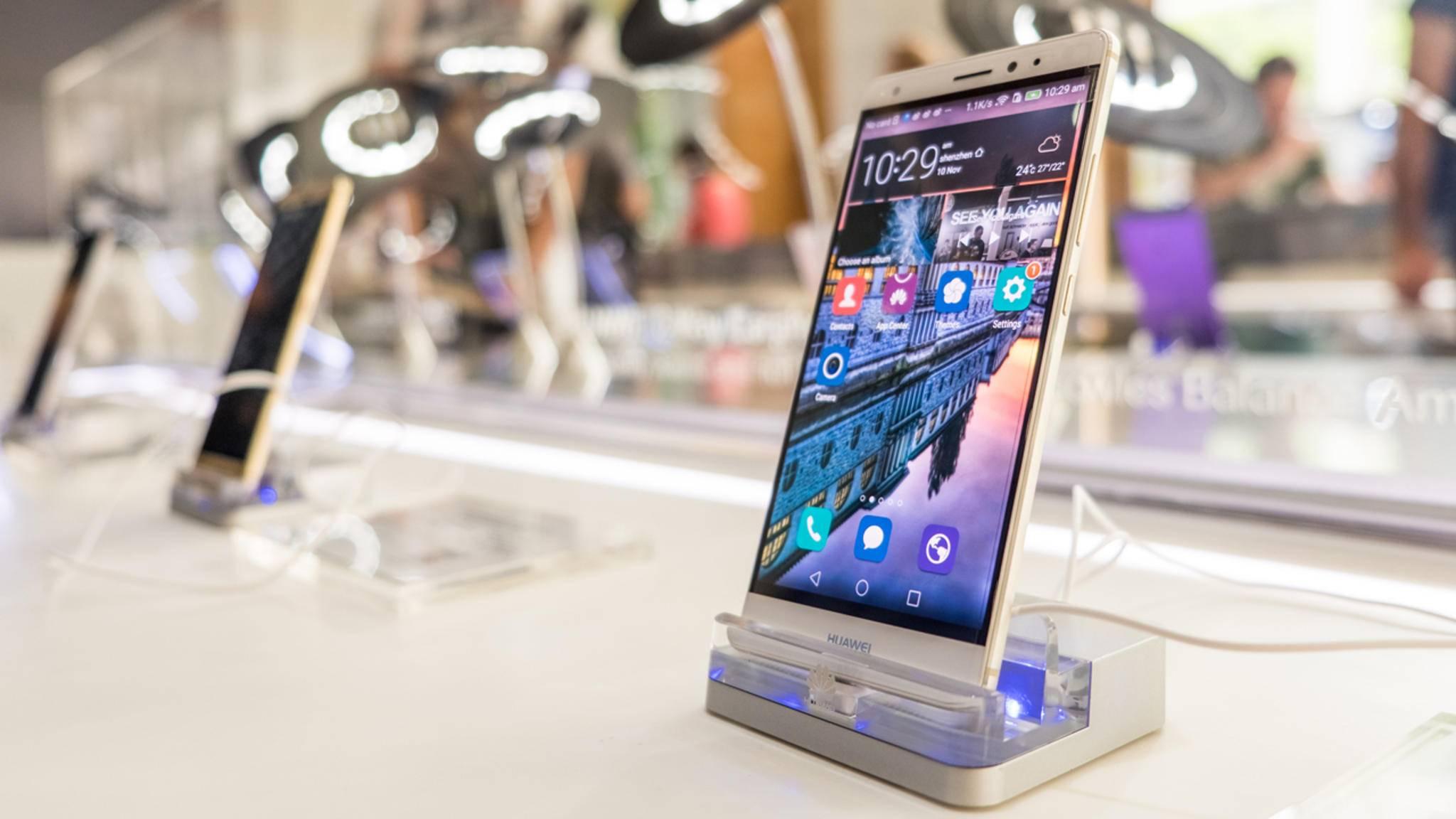 Das Huawei Mate S sowie das P8 werden nicht mehr mit dem Update auf Android Nougat bedacht.