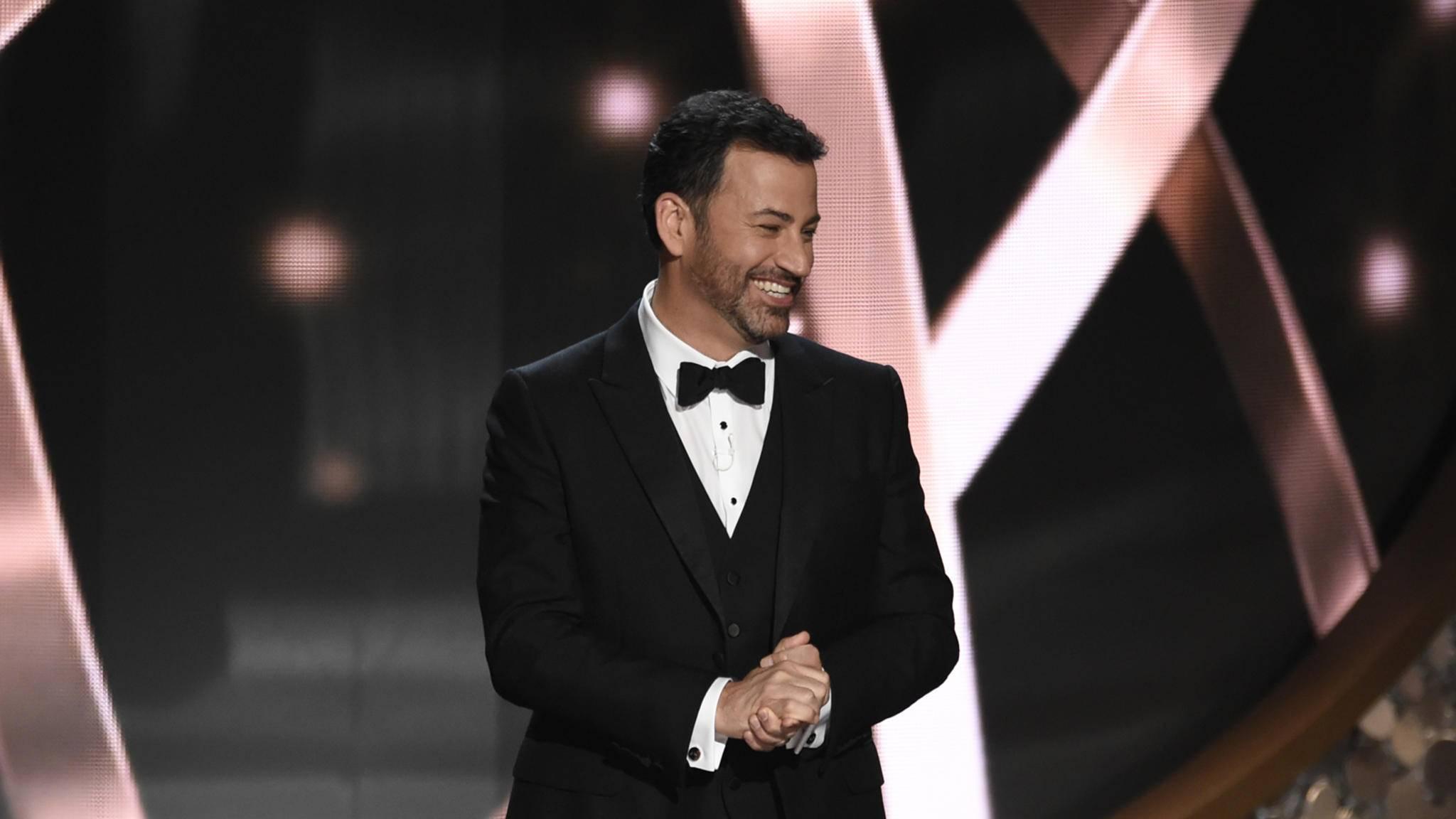 Mit der Moderation der Emmys 2012 und 2016 ist Jimmy Kimmel bestens für die Oscars 2017 gerüstet.