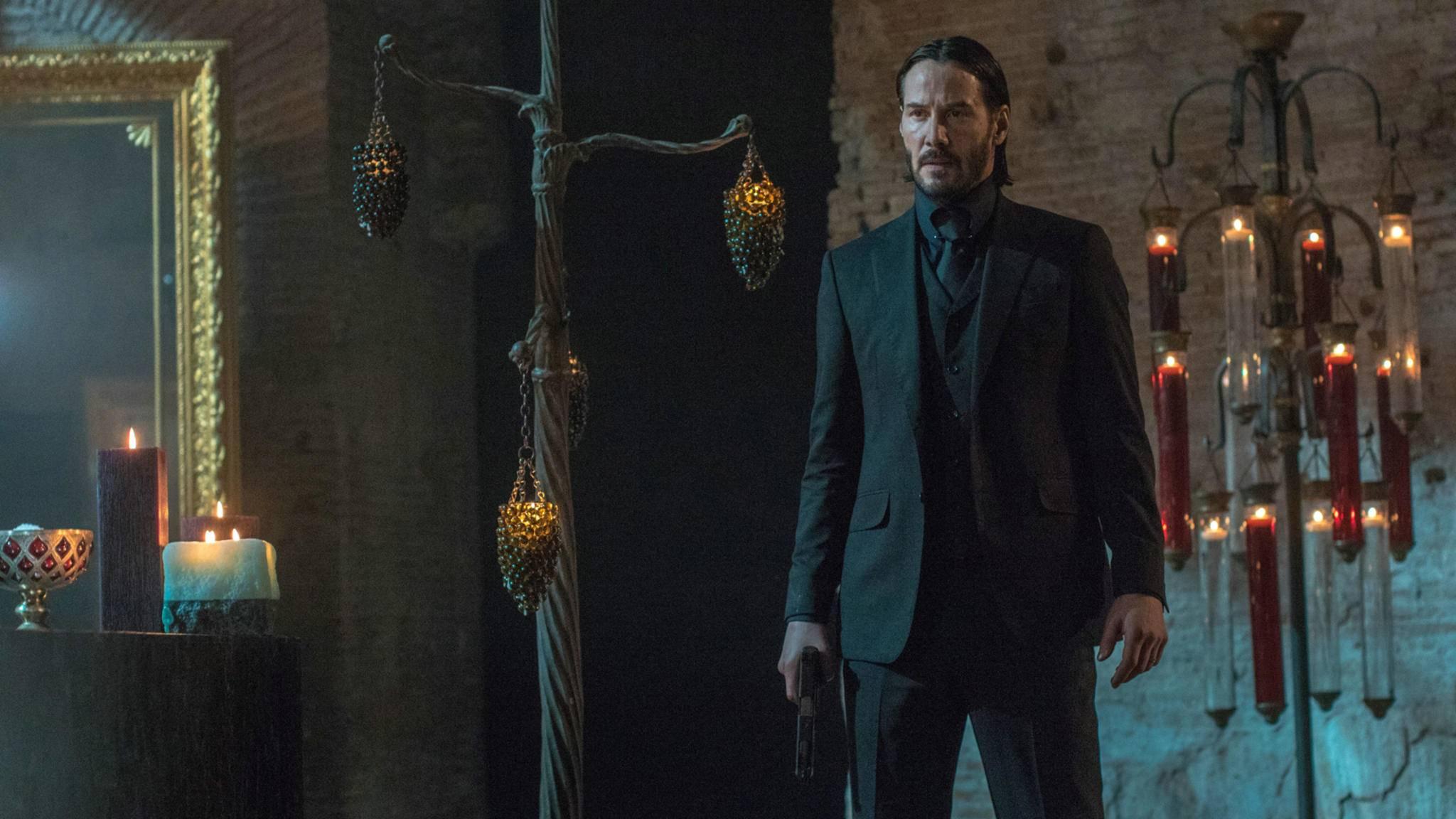 Er tut es noch einmal: Keanu Reeves kehrt als Auftragskiller John Wick aus dem Ruhestand zurück.