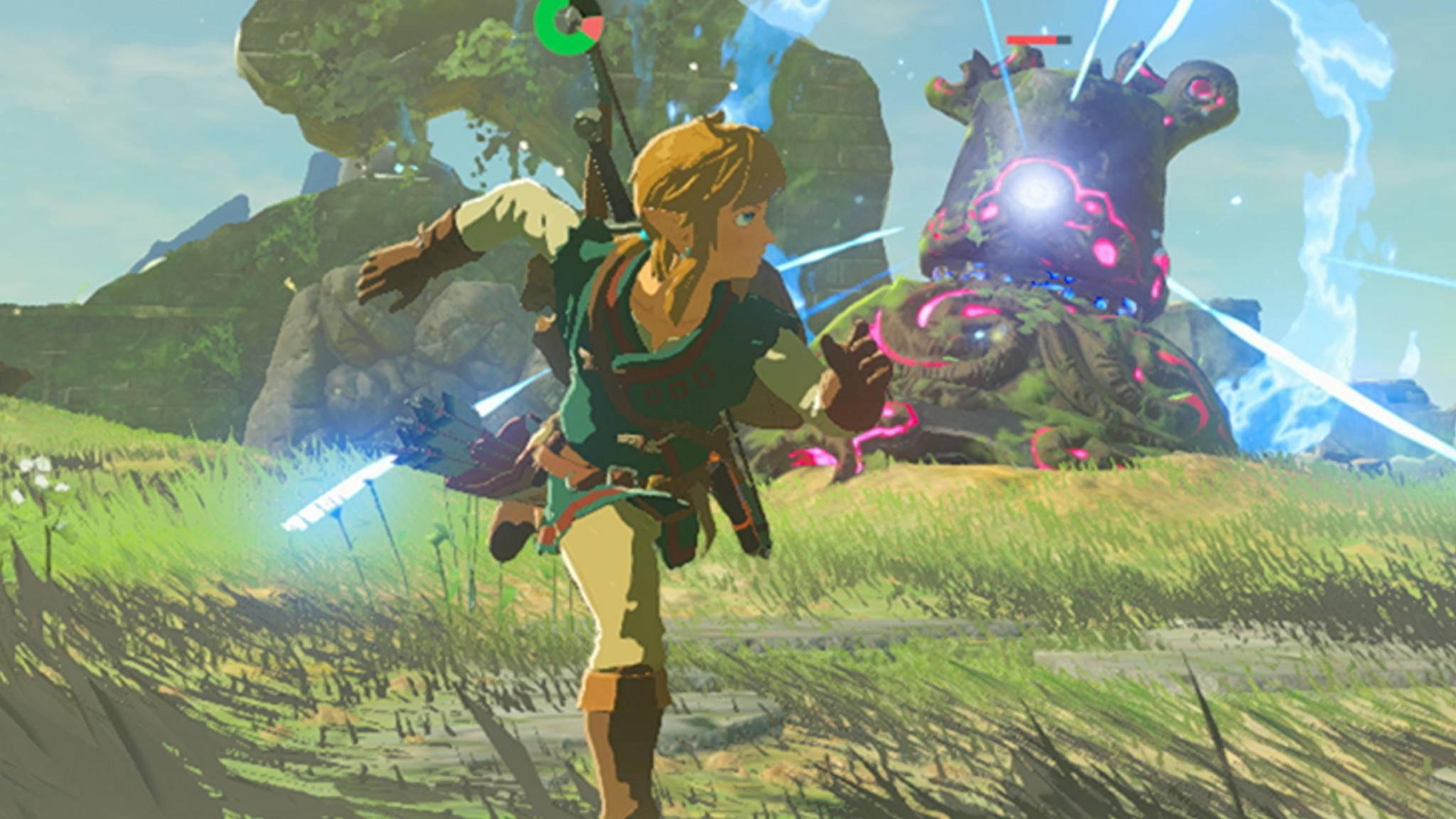 """Die Spielegrafik von """"The Legend of Zelda: Breath of the wild"""" lässt keine Wünsche offen."""